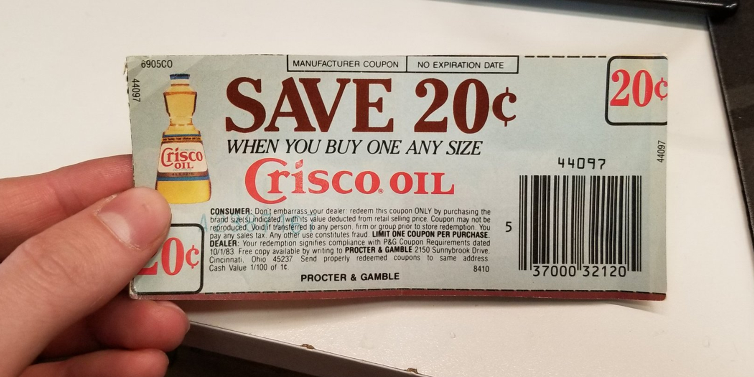 Buy Manufacturer Coupons >> Someone Used A 36 Year Old Coupon To Buy Groceries