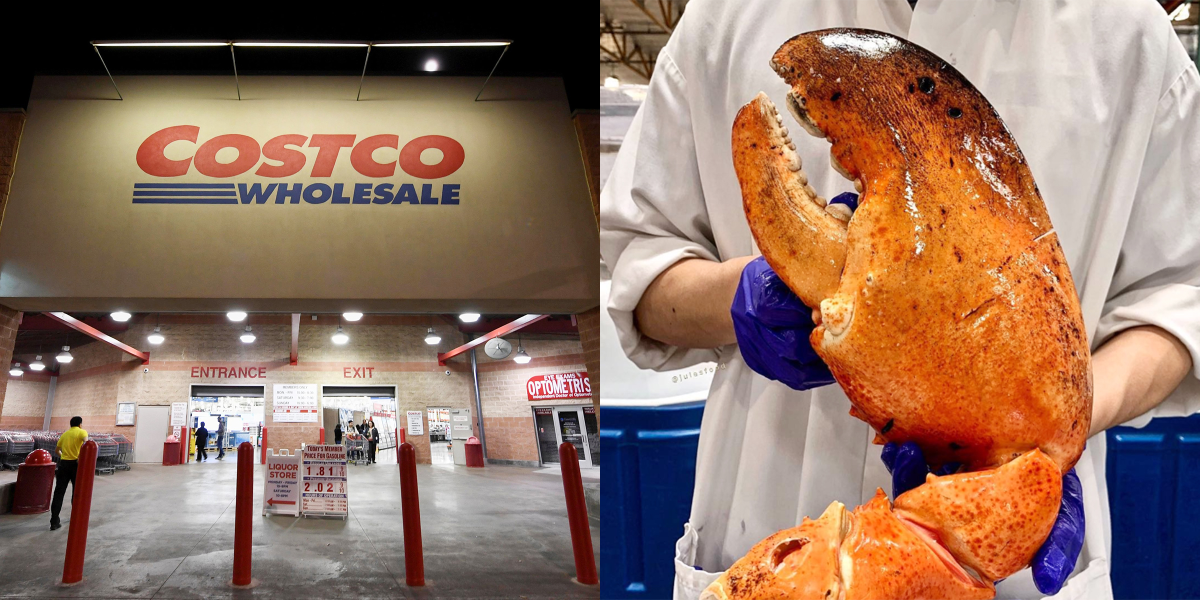 0c1ffdef3e0 Costco is selling giant lobster claws and they're really freaking people out