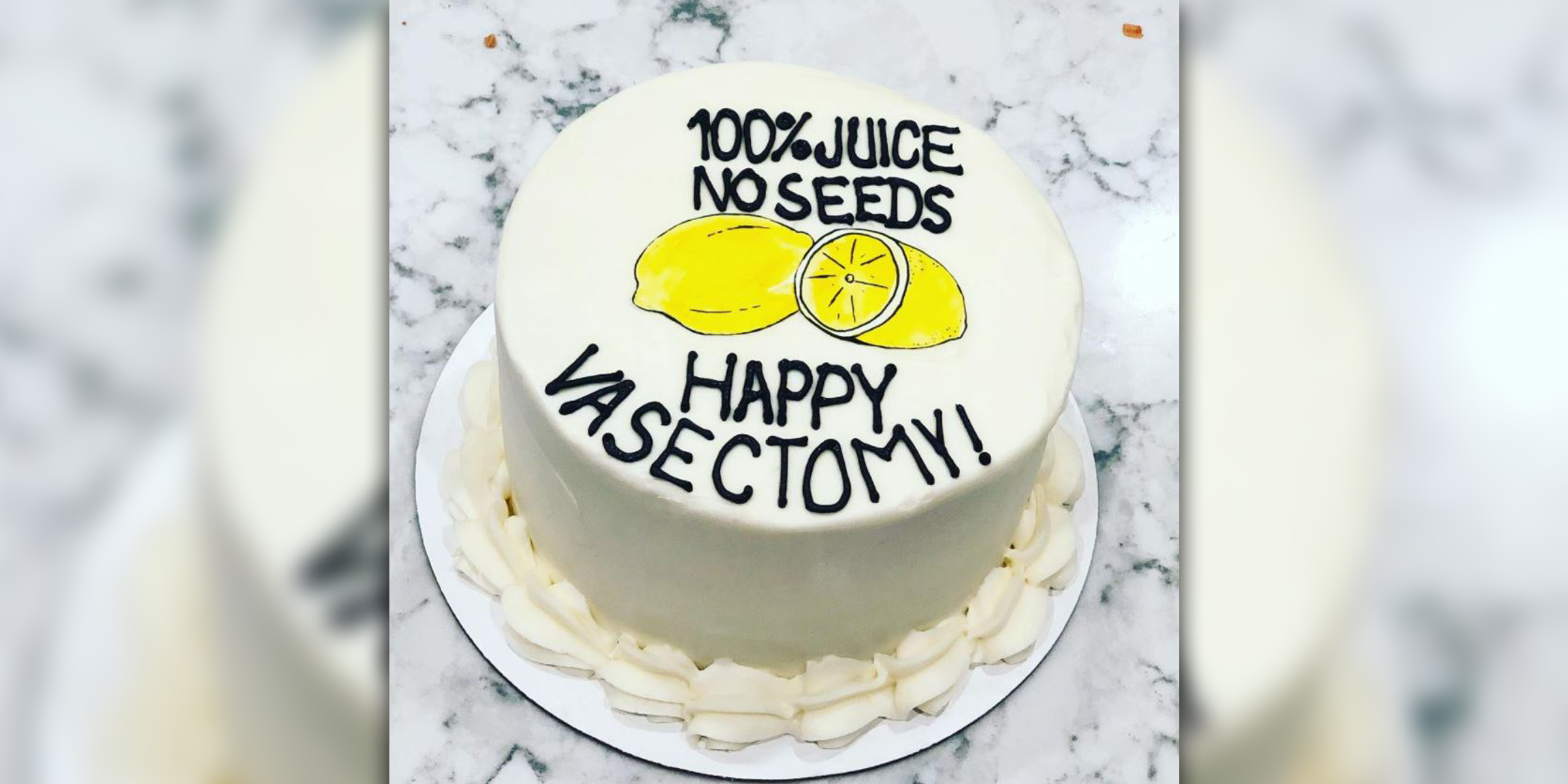 Pleasing Vasectomy Cakes Are A Real Trend And Becoming More Popular Funny Birthday Cards Online Chimdamsfinfo