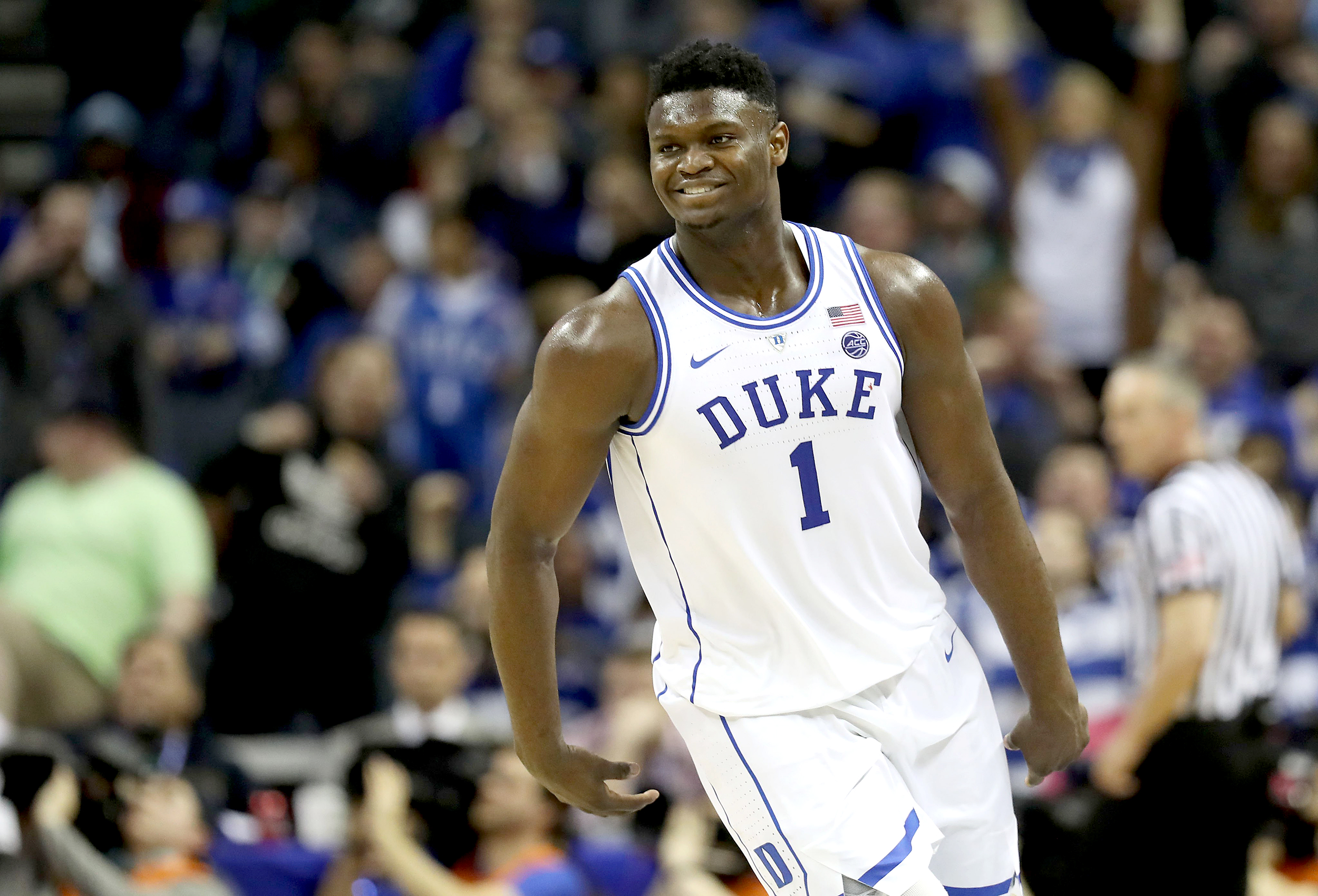 Image result for zion williamson duke