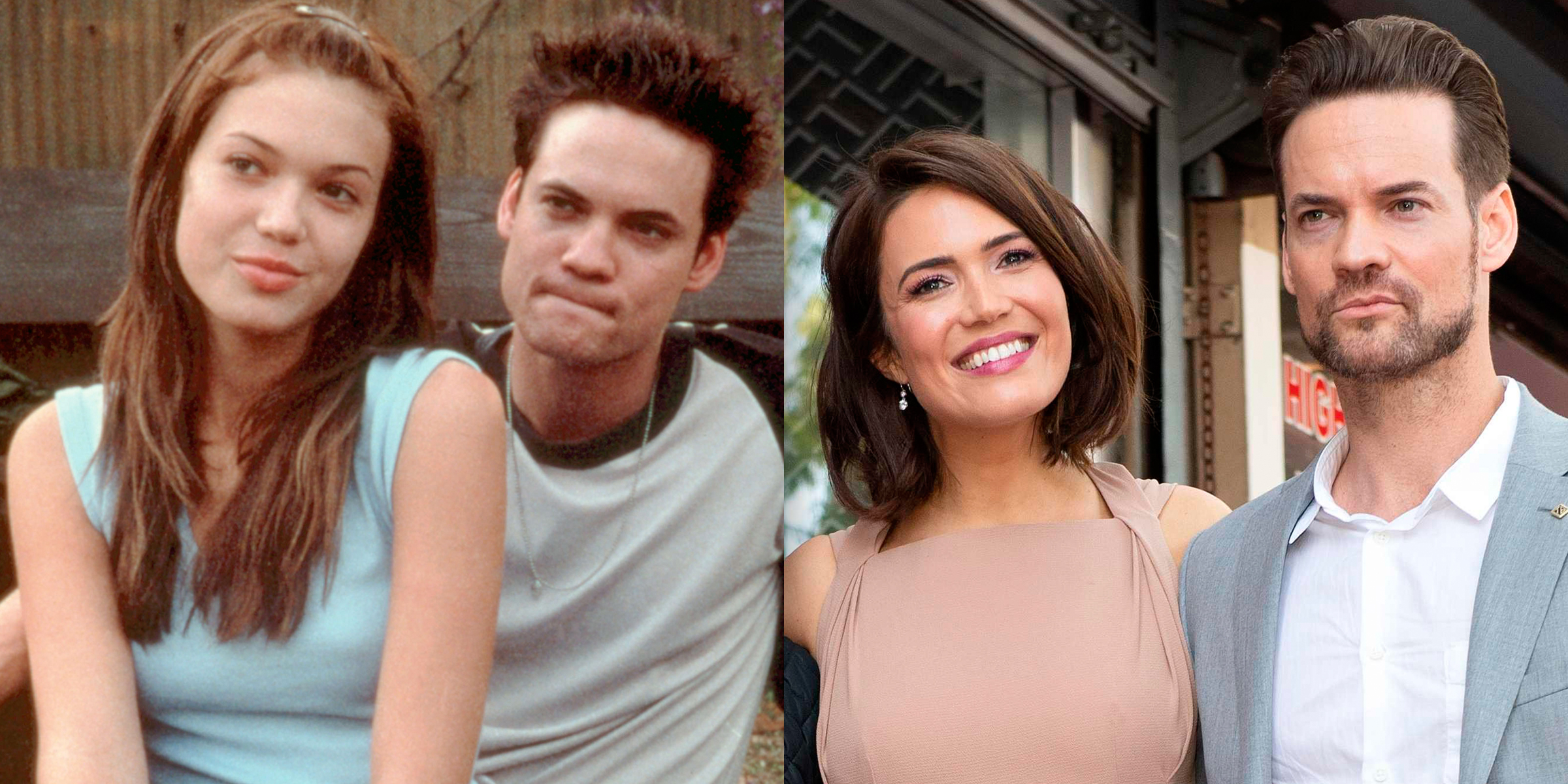 A Walk To Remember Reunion Shane West Surprises Mandy Moore At Walk Of Fame Event