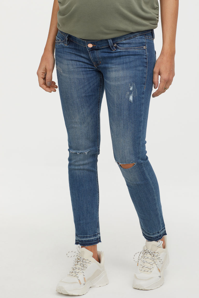 H&M Mama Skinny Ankle Jeans | 16 Fall Maternity Essentials