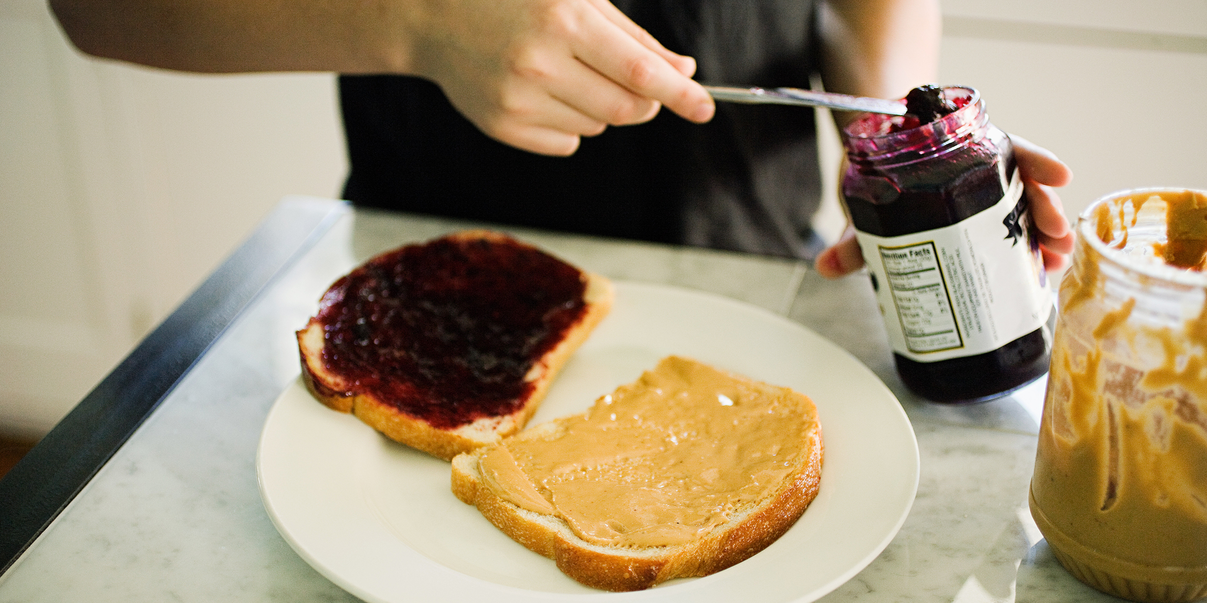 How to make a peanut butter and jelly: Is there a right way?