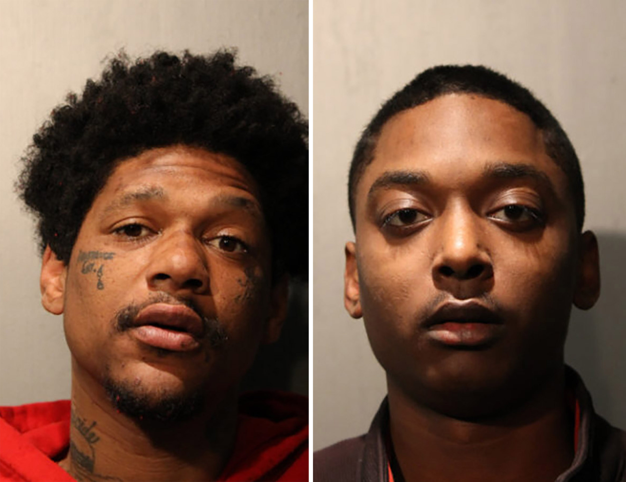 Two men arrested after off-duty Chicago police officer shot dead while sitting in car