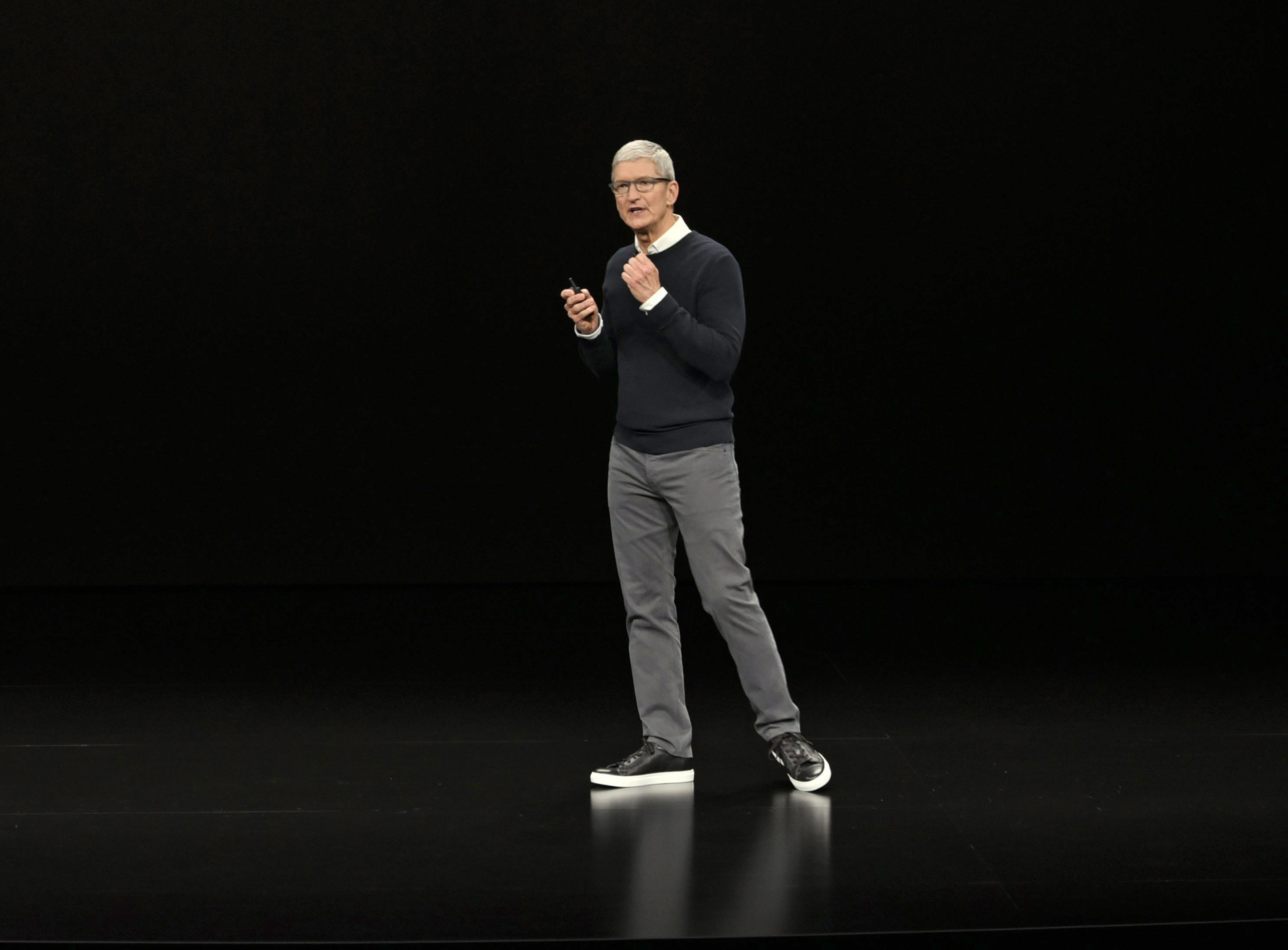 Apple Event Tv News And Video Game Services Signal New Direction For Iphone Maker