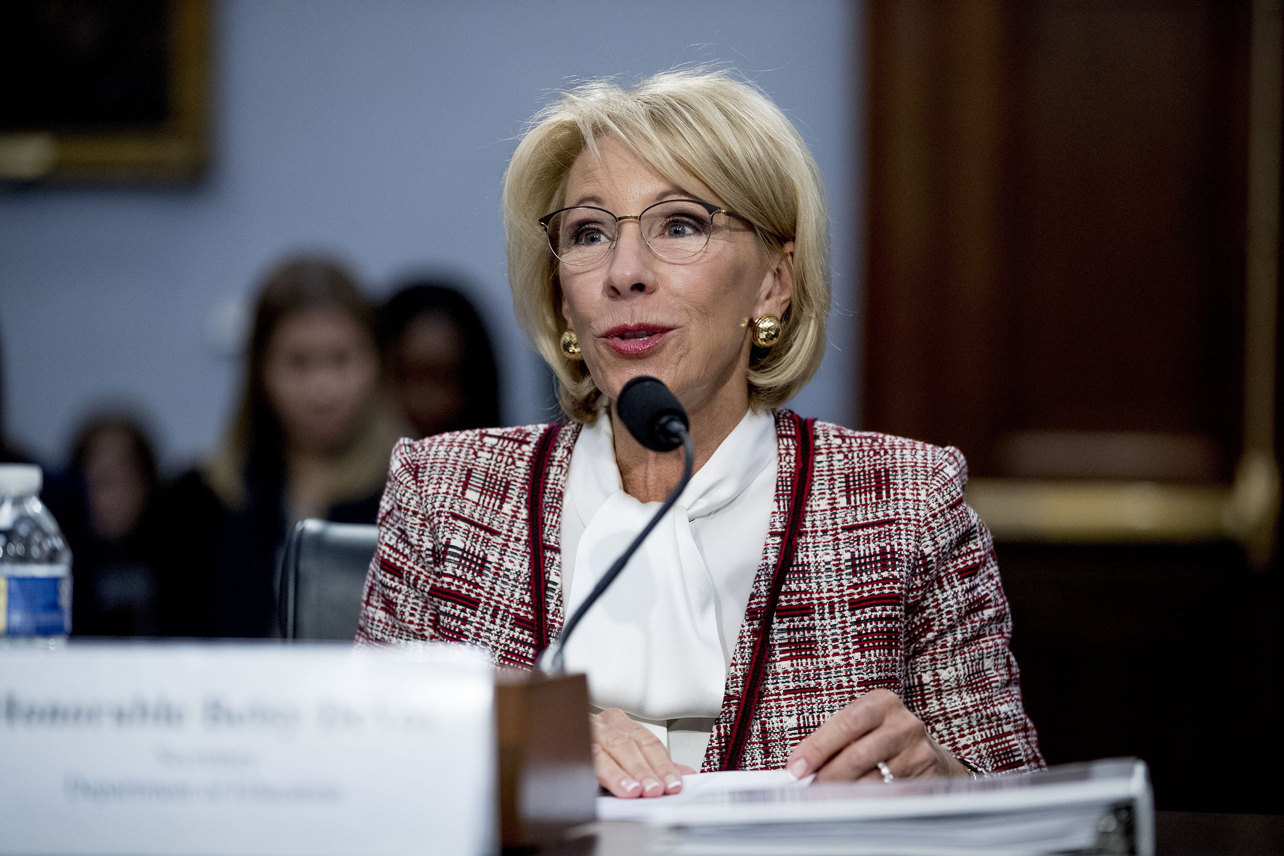 Betsy Devos And Plan To Break Public >> Betsy Devos Grilled In Congress Over Proposed Elimination Of Special