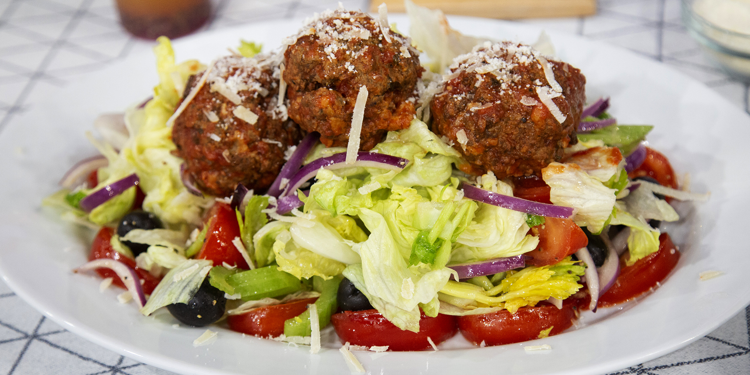 Lucali Meatball Salad Today Com
