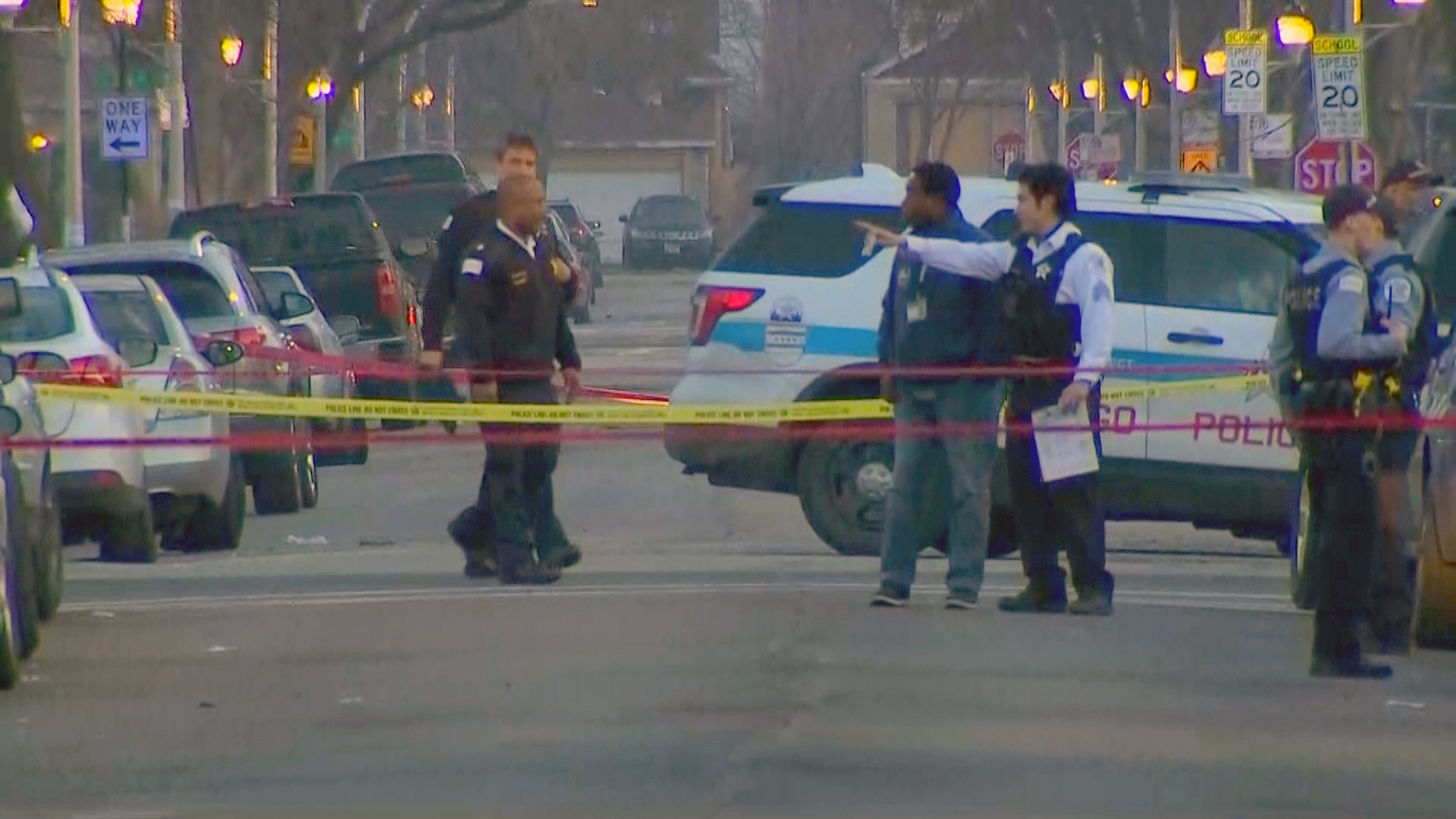 At least 5 people, including 2 children, shot at family