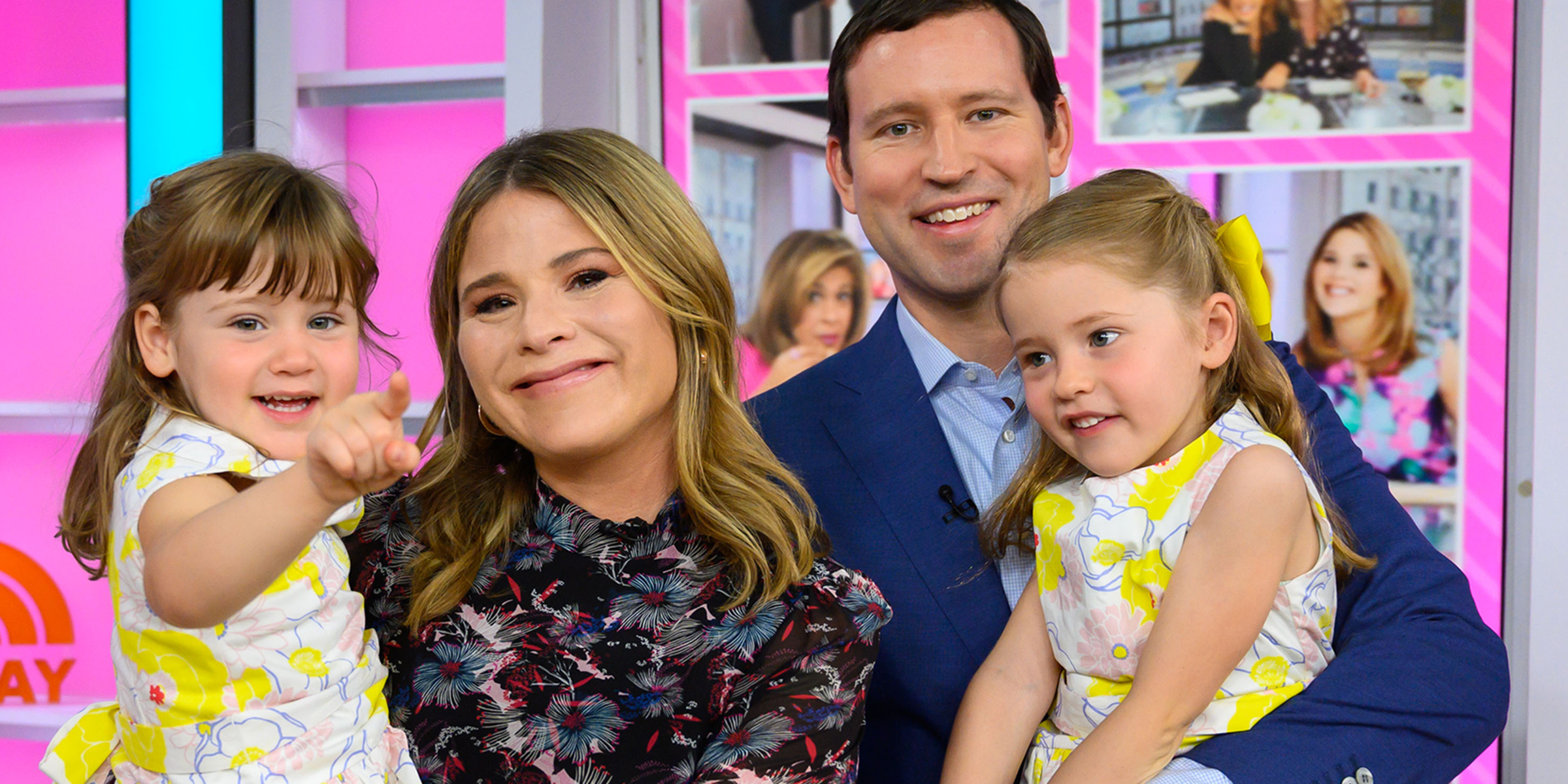 Jenna Bush Hager wrote daughters letters on days they were born