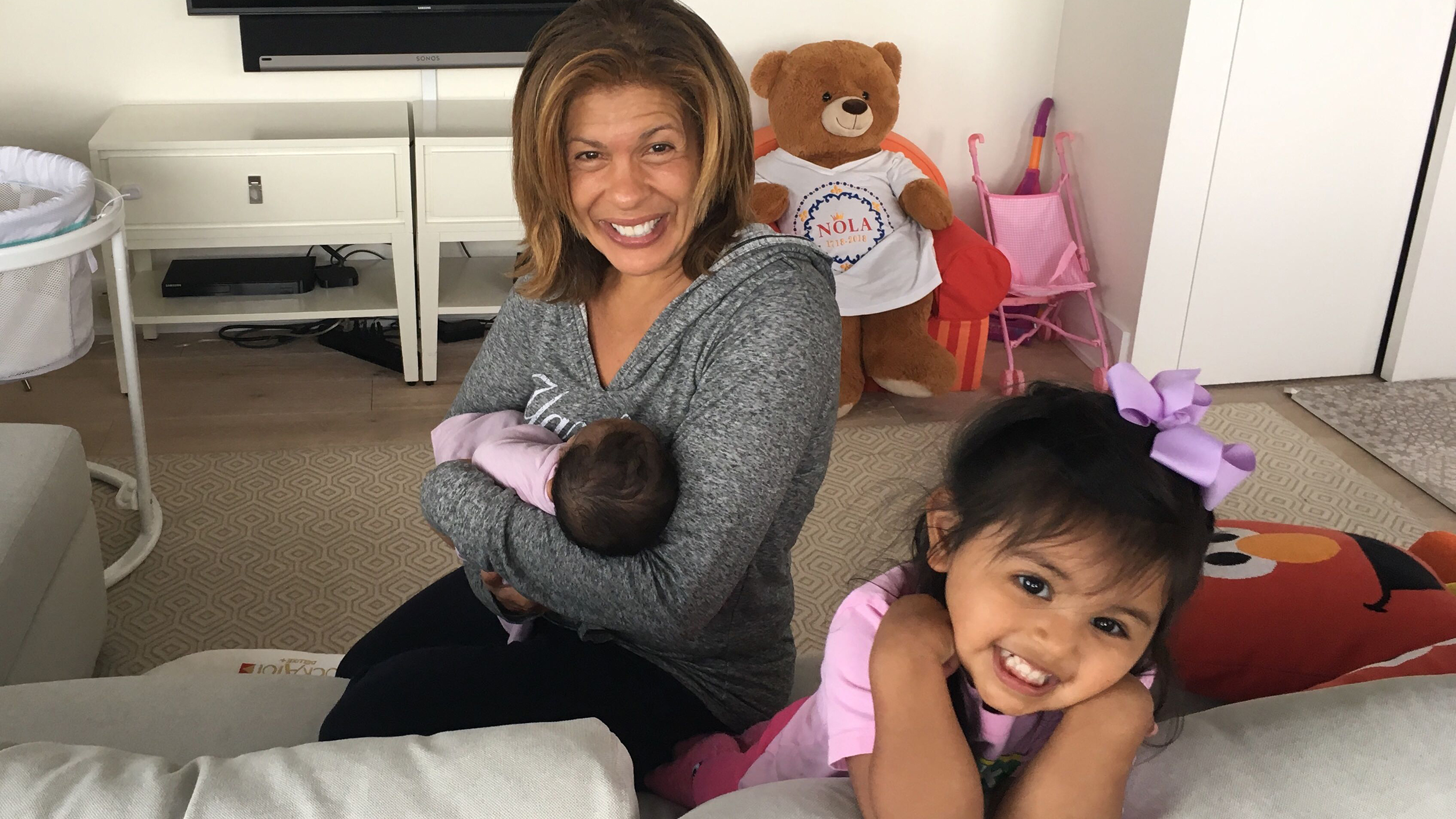 Hoda Kotb announces she has adopted another baby girl
