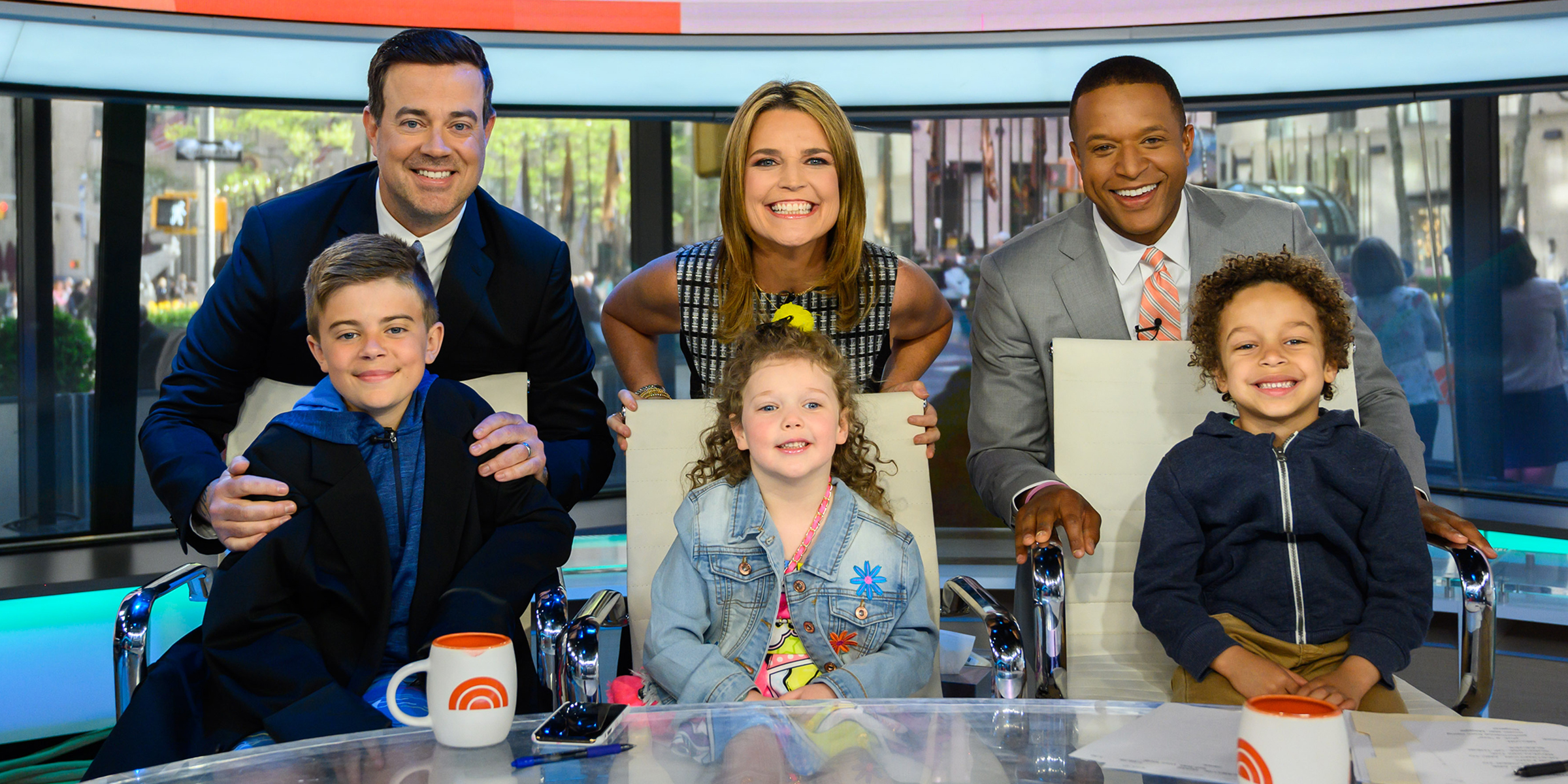 Today Anchors Kids Steal The Show On Take Our Daughters And Sons