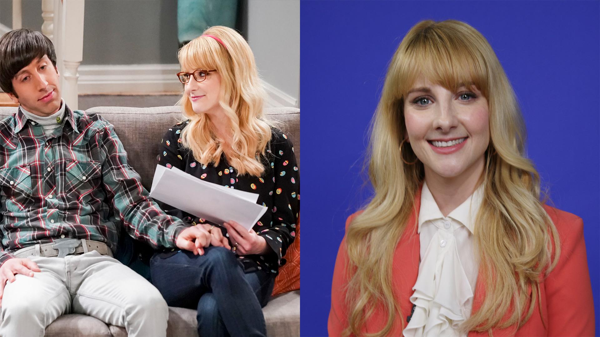 'Big Bang Theory' star Melissa Rauch reveals her favorite Bernadette moments