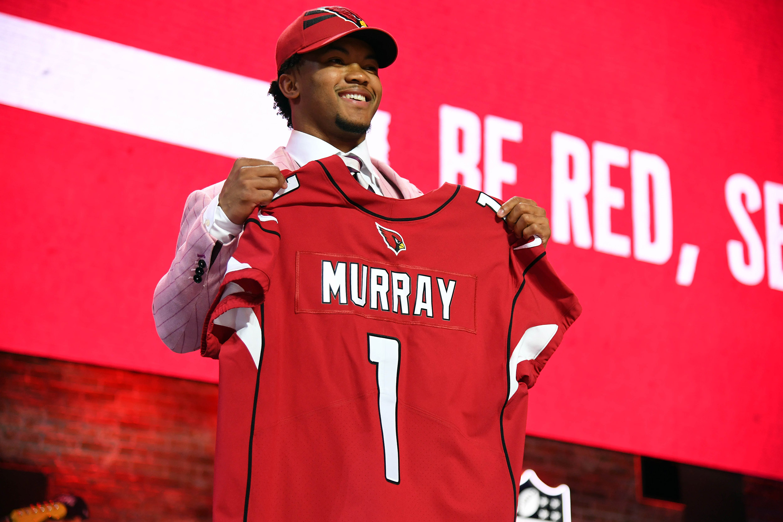 To Goes Cardinals Kyler First Pick The Nfl Draft Murray With