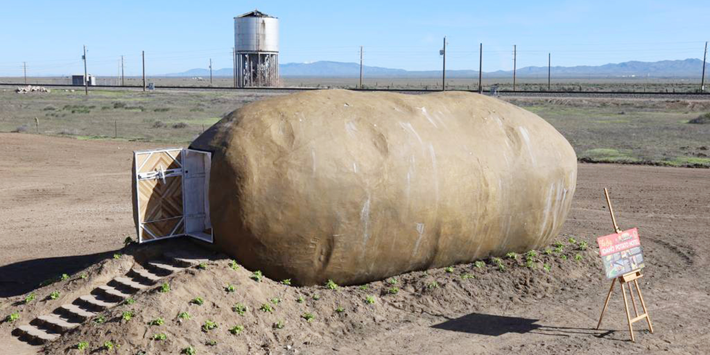 This giant potato is an Airbnb rental