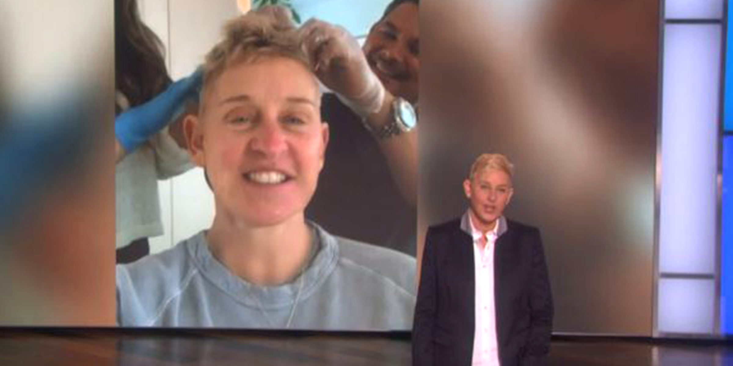Ellen DeGeneres shares her hair color horror story: 'My hair was falling out'