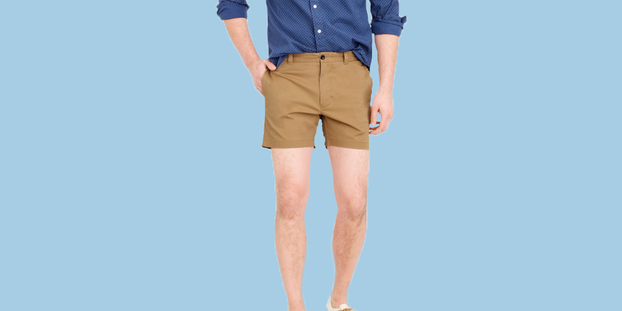 a1c93a039b Short shorts for men are back this spring