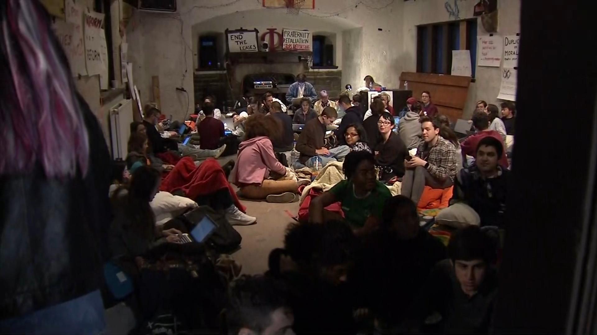 A Pennsylvania college suspends frat activity amid backlash