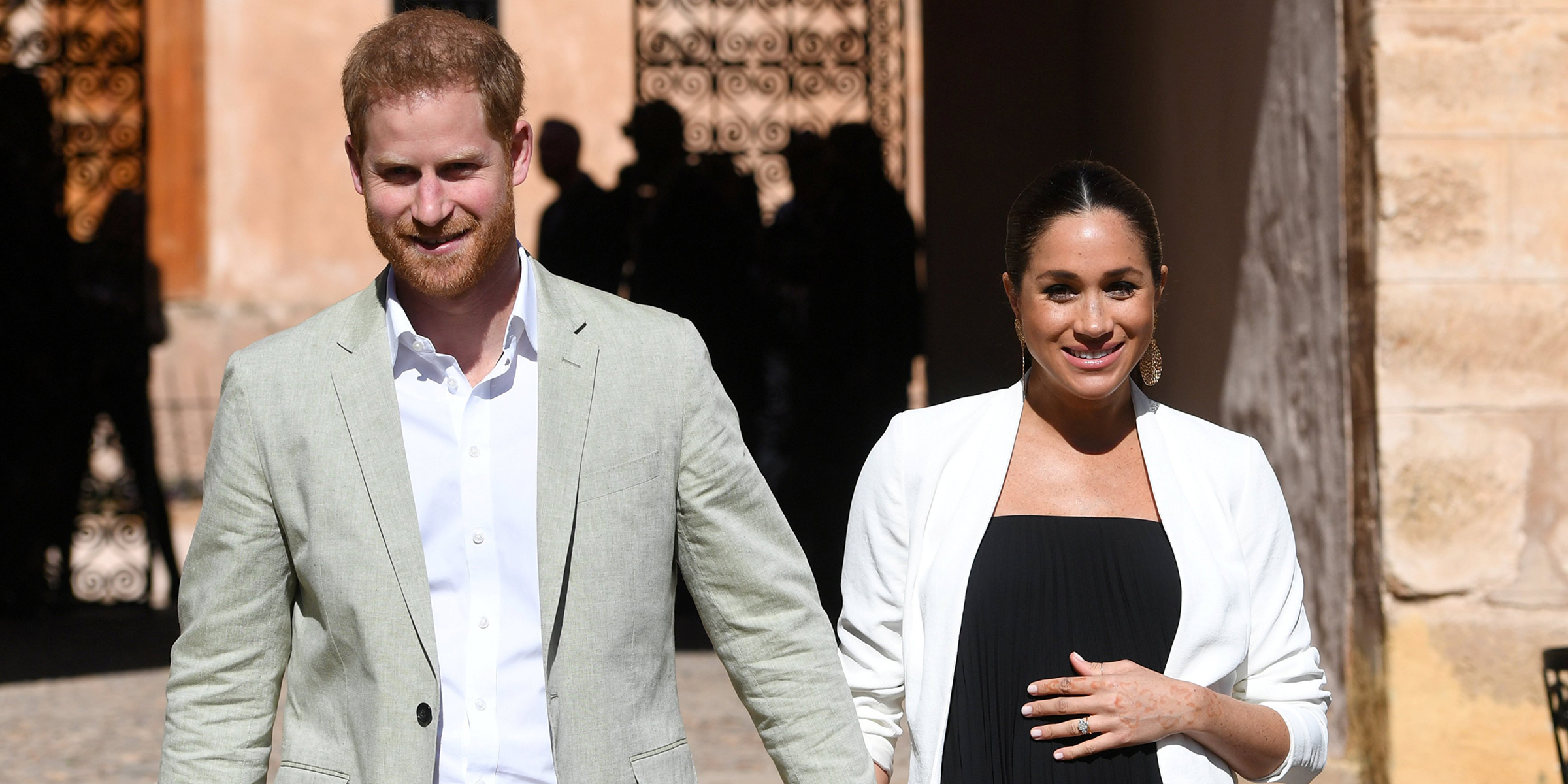 Meghan Markle gives birth to royal baby boy