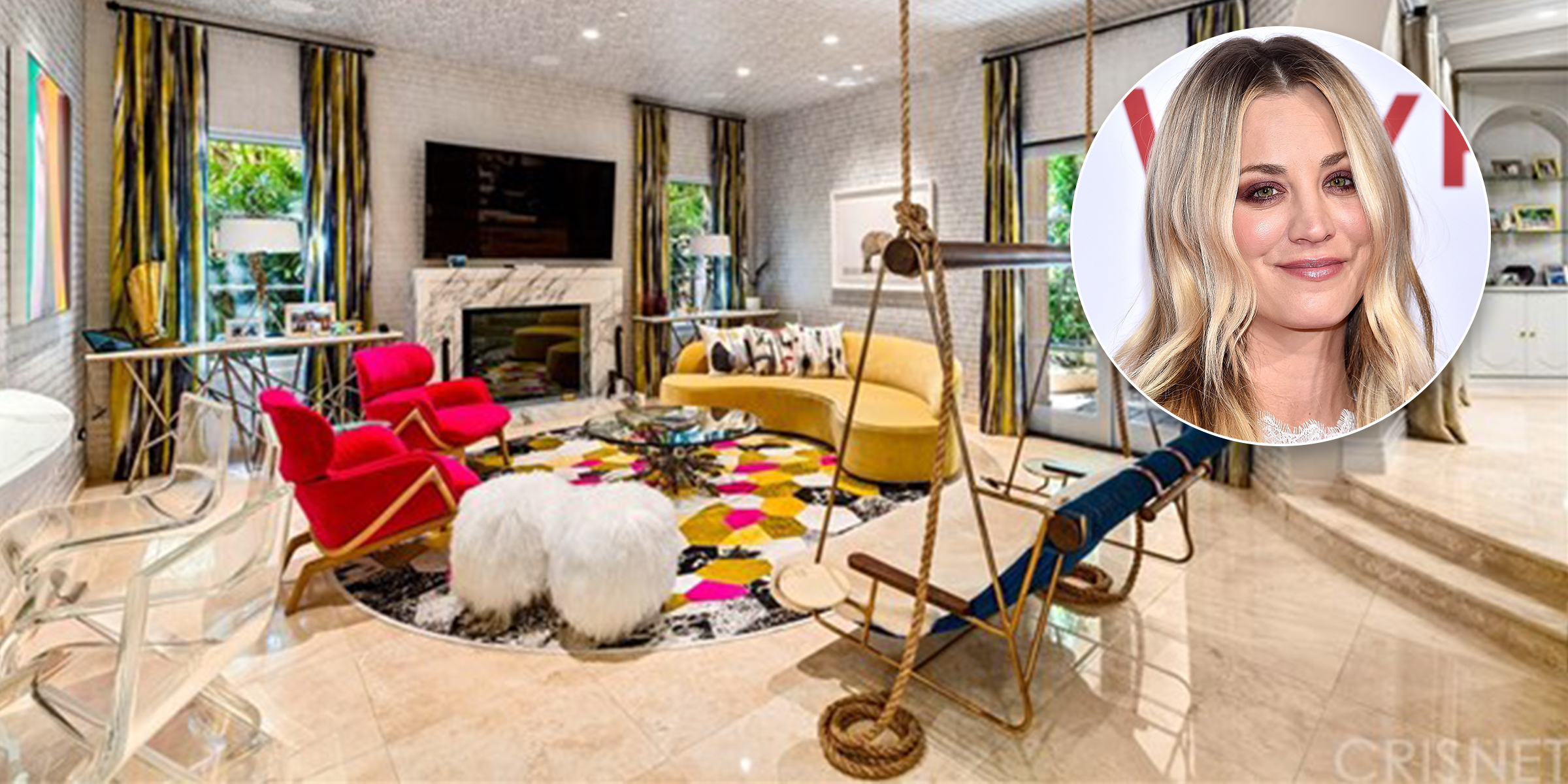 Kaley Cuoco is selling her funky and fabulous home — see inside!