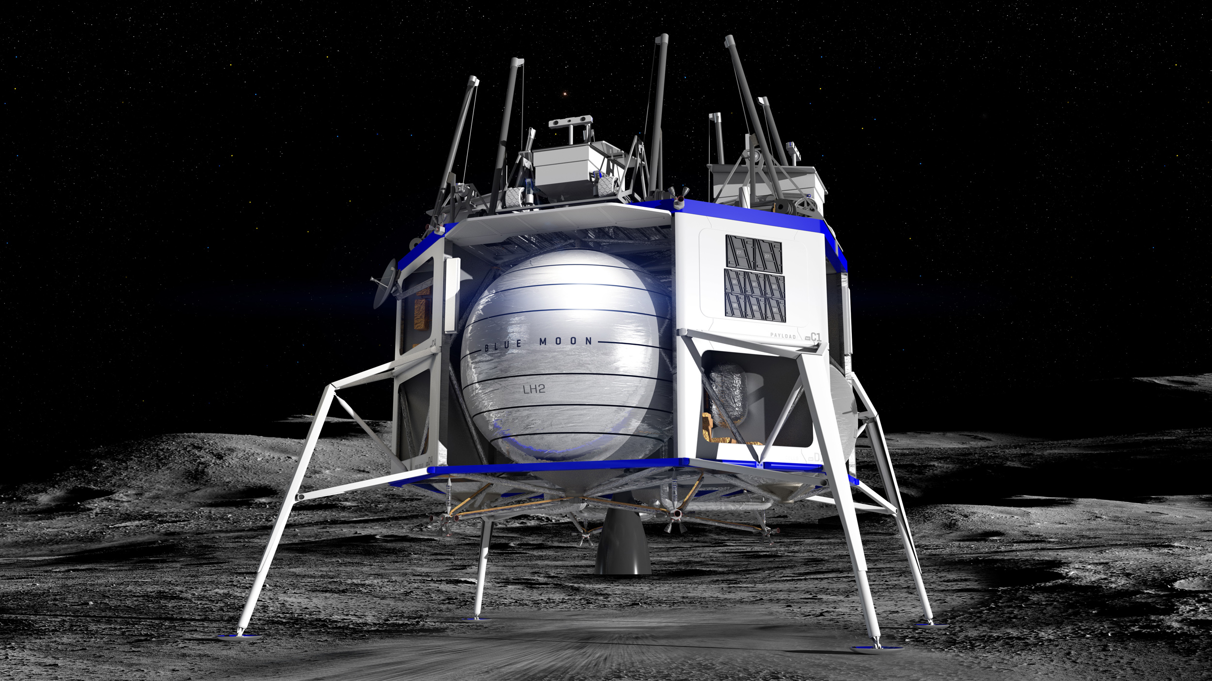 5f7b30504b3f5 Jeff Bezos  Blue Moon  Here s what we know so far about Blue Origin s new  lunar lander