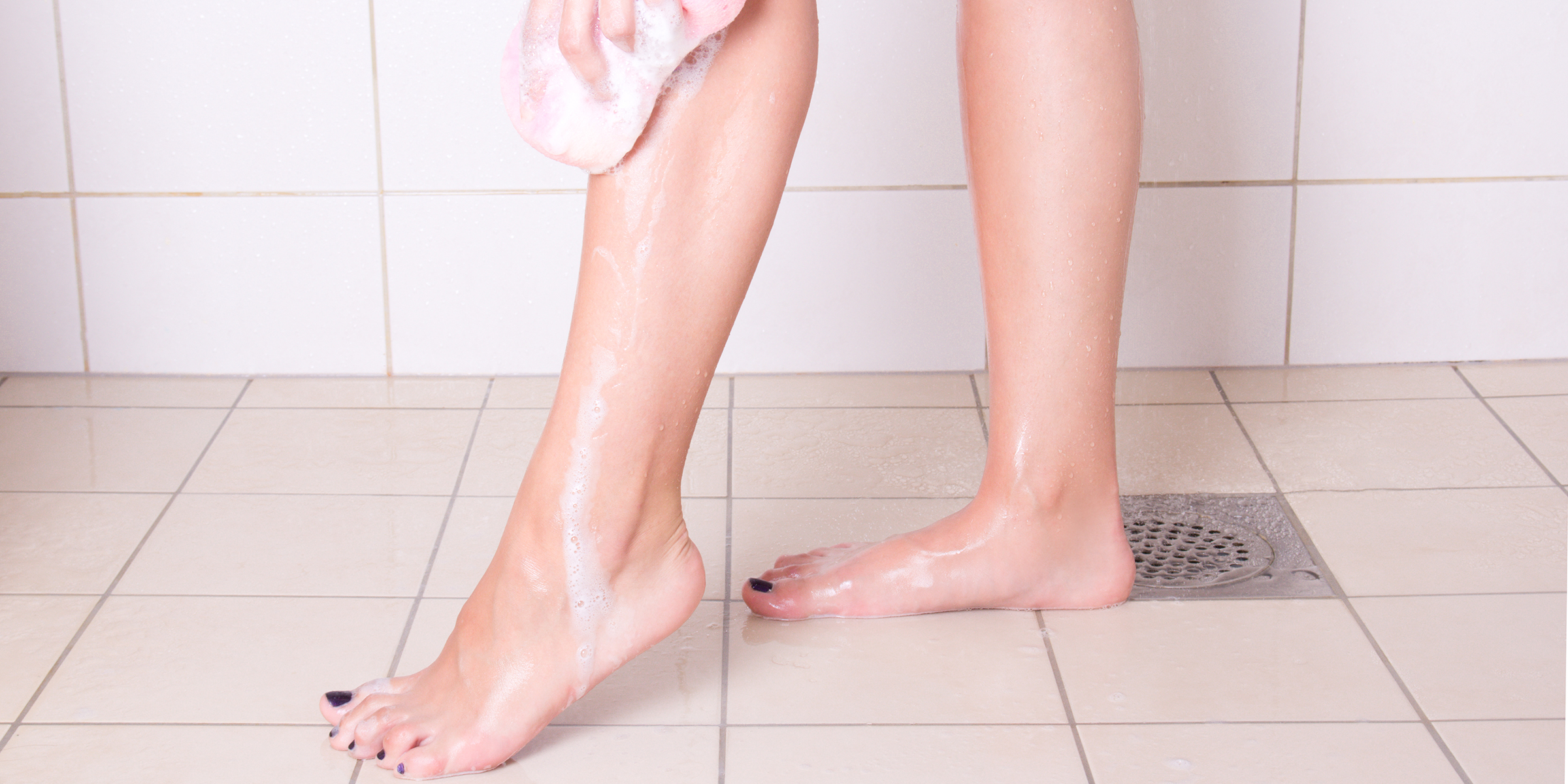 Do you wash your legs in the shower? The internet is divided