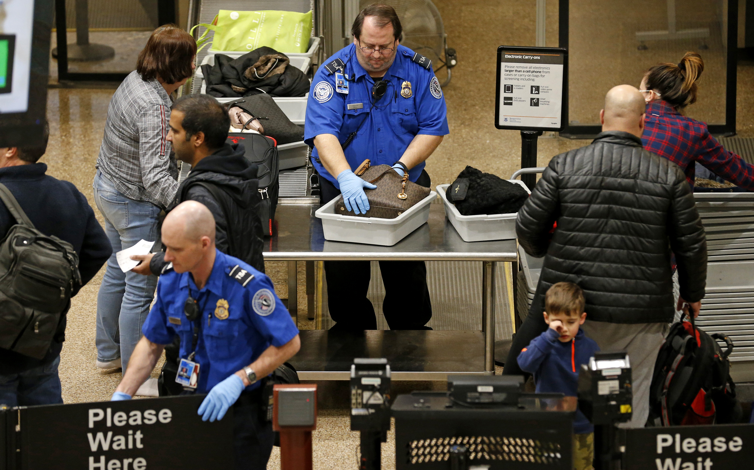 TSA identifies 200 agents, including air marshals, who can