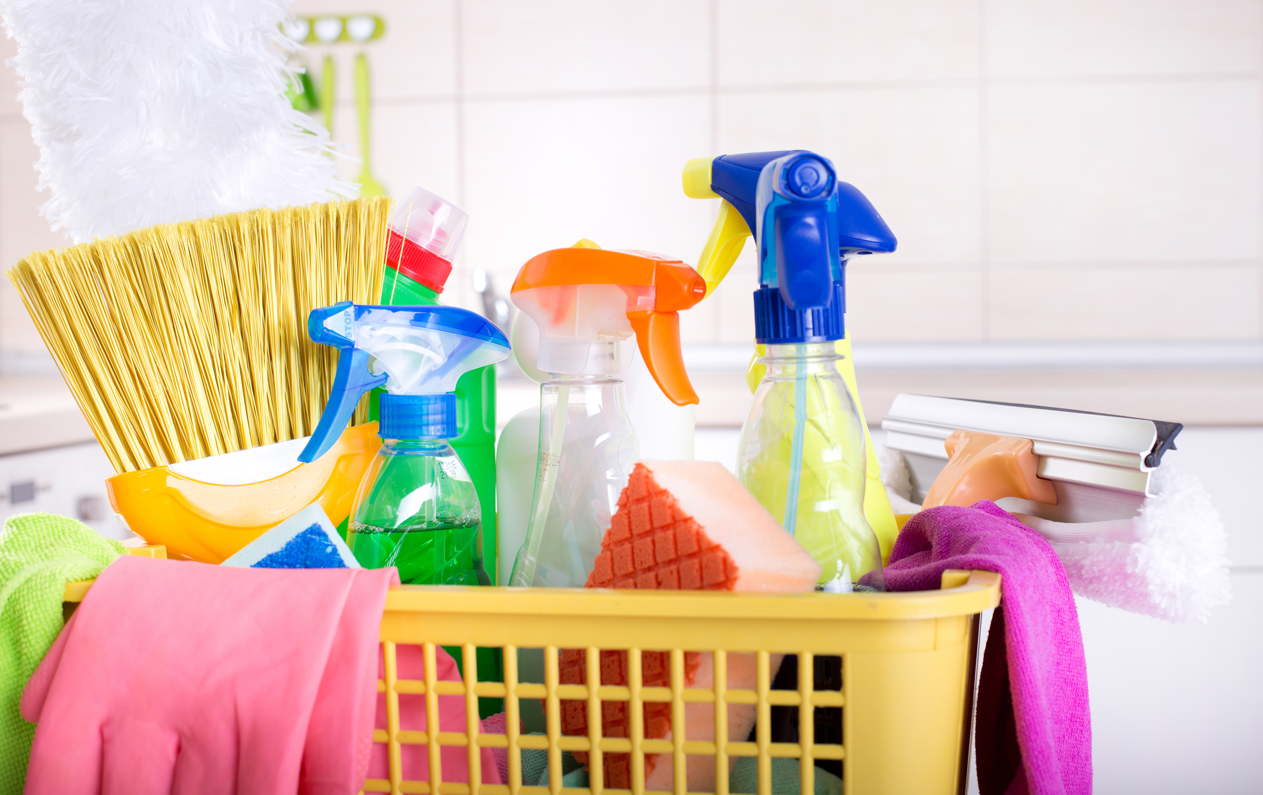 Cleaning this weekend? This interactive room-by-room guide will make it easier