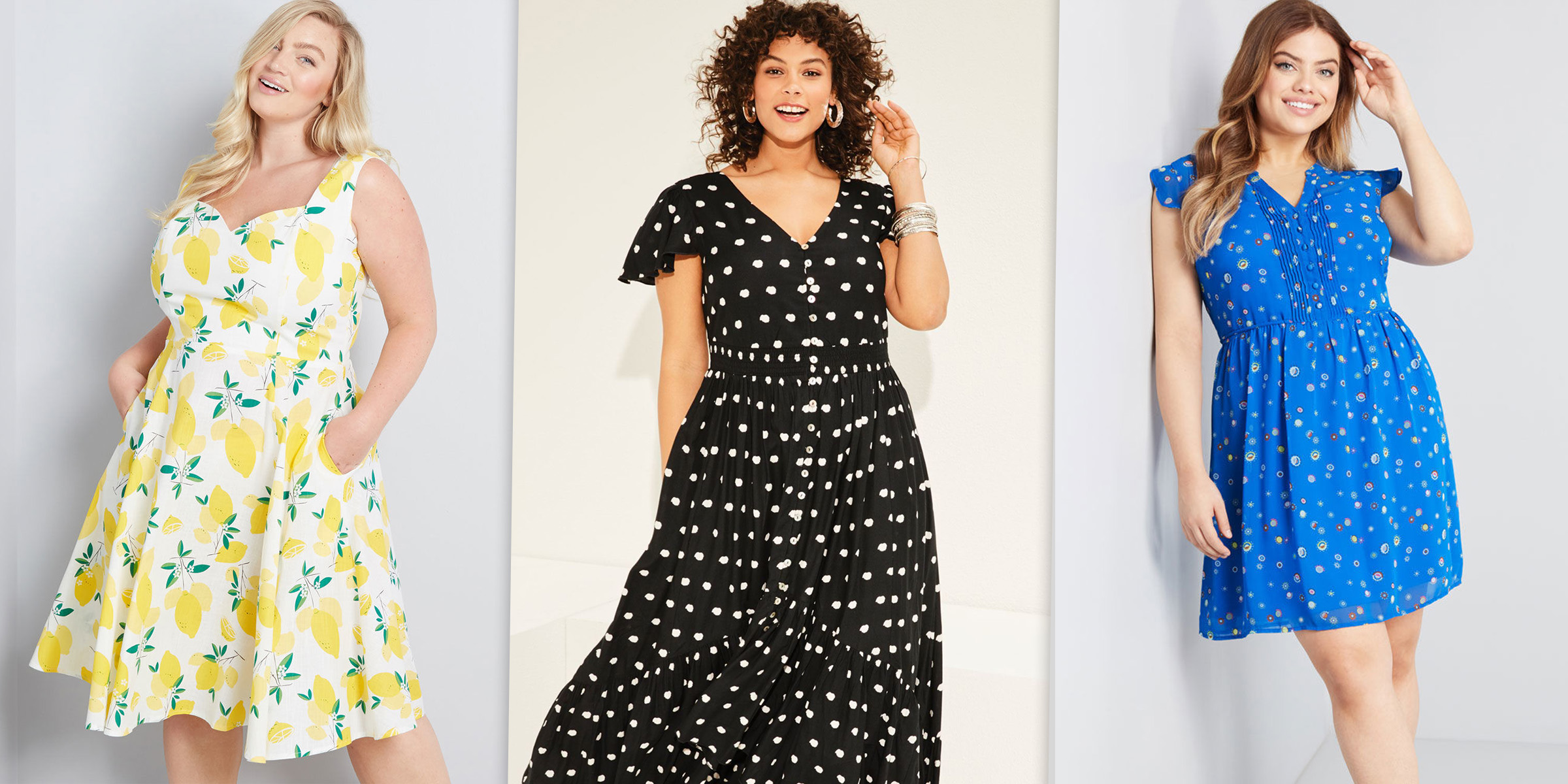 The best plus-size dresses for summer 2019