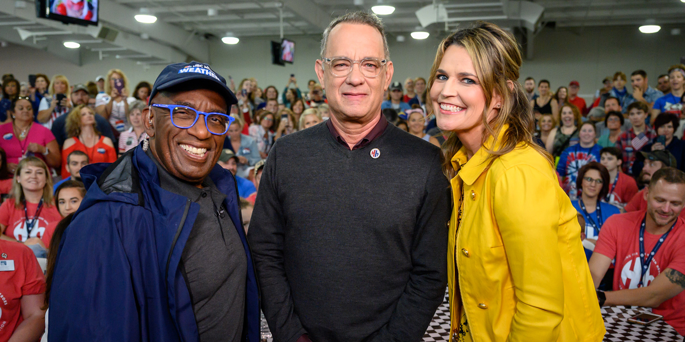 TODAY salutes Hidden Heroes with Tom Hanks, Elizabeth Dole and Sheryl Crow