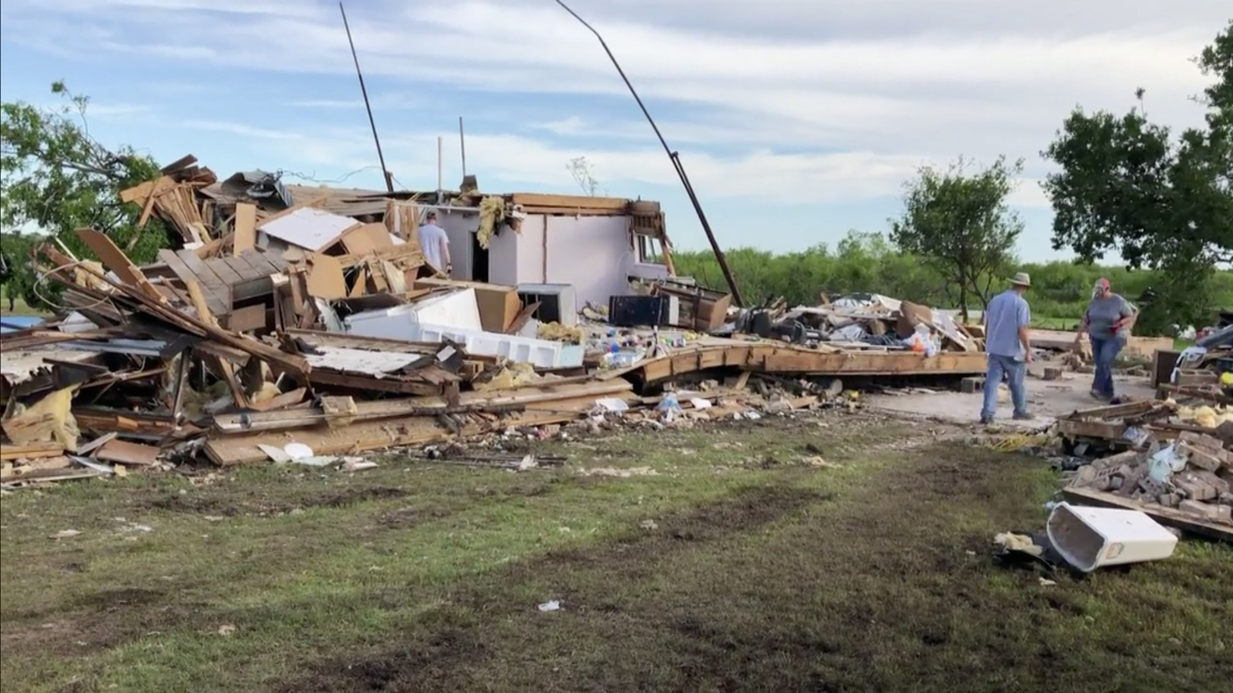 18 Reported Tornadoes In Texas, Oklahoma And More As
