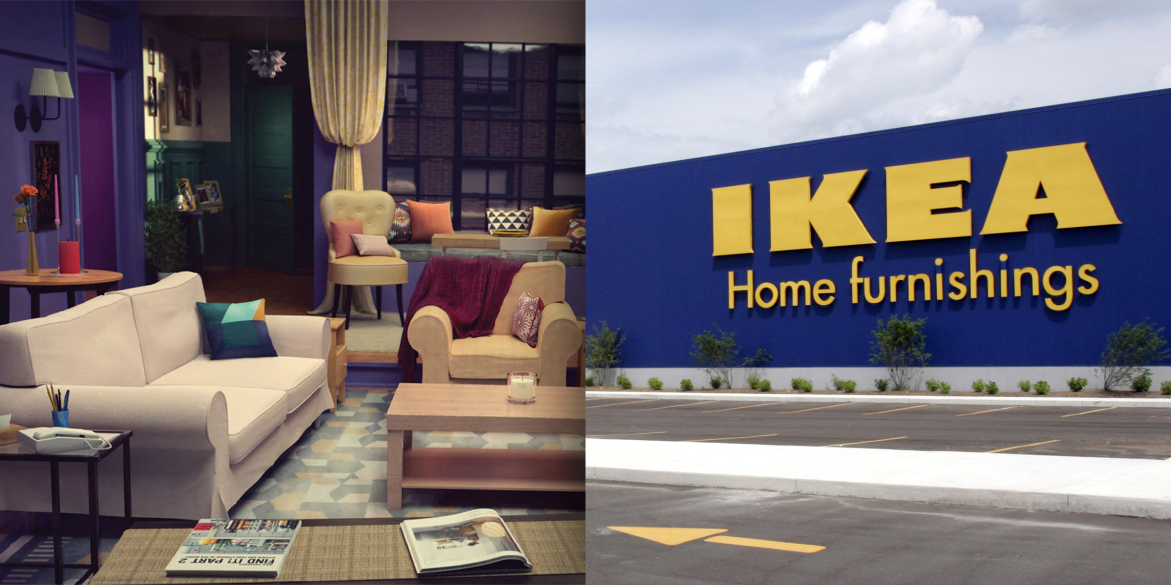 Ikea brings iconic living room from \'Friends\' to life in new ...