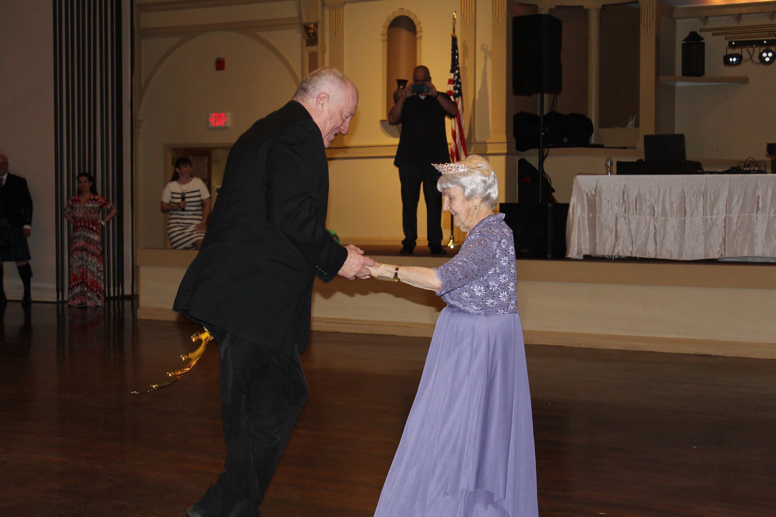 Image result for 97-Year-Old crowned Prom Queen