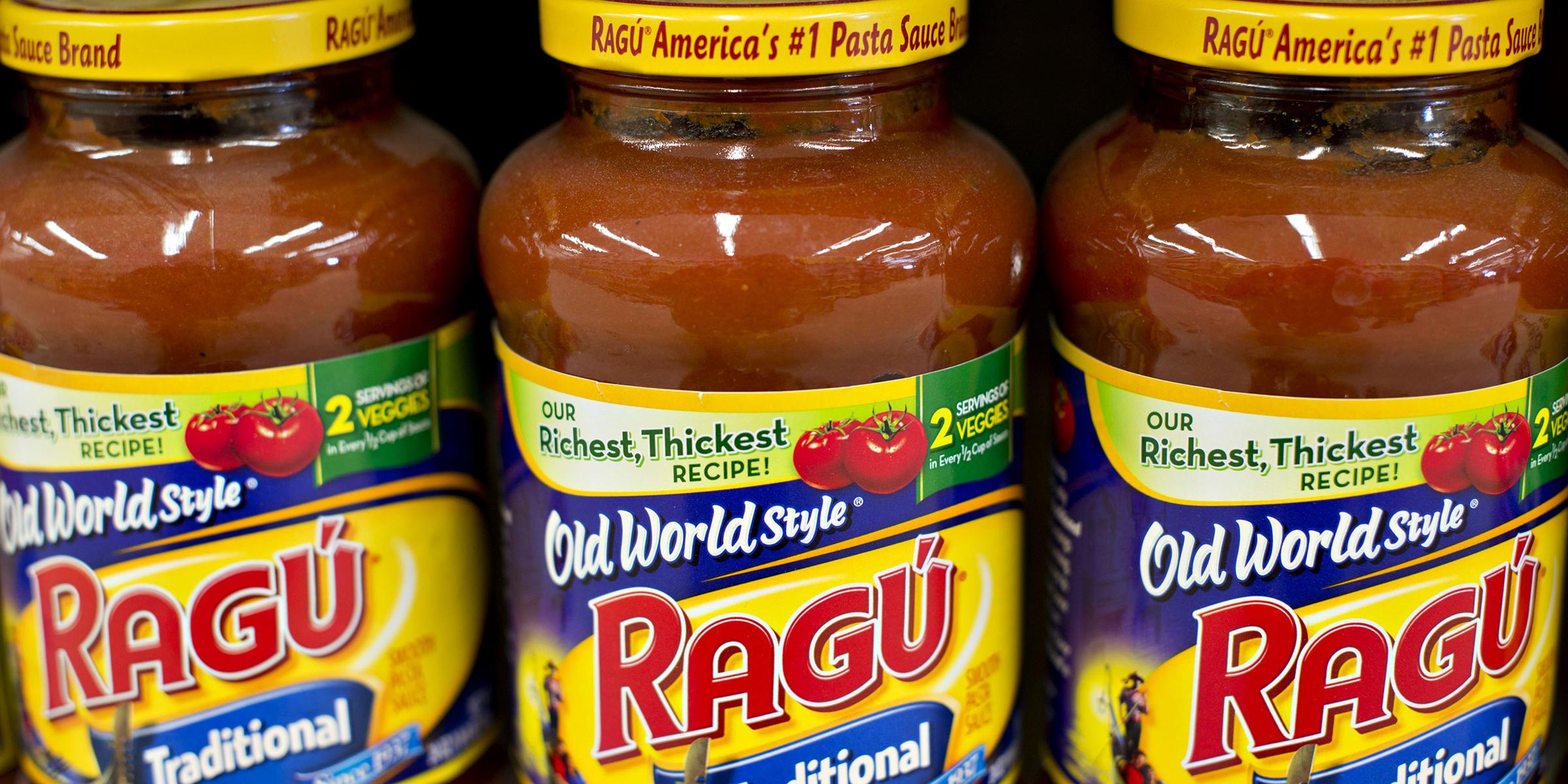 Ragu sauces