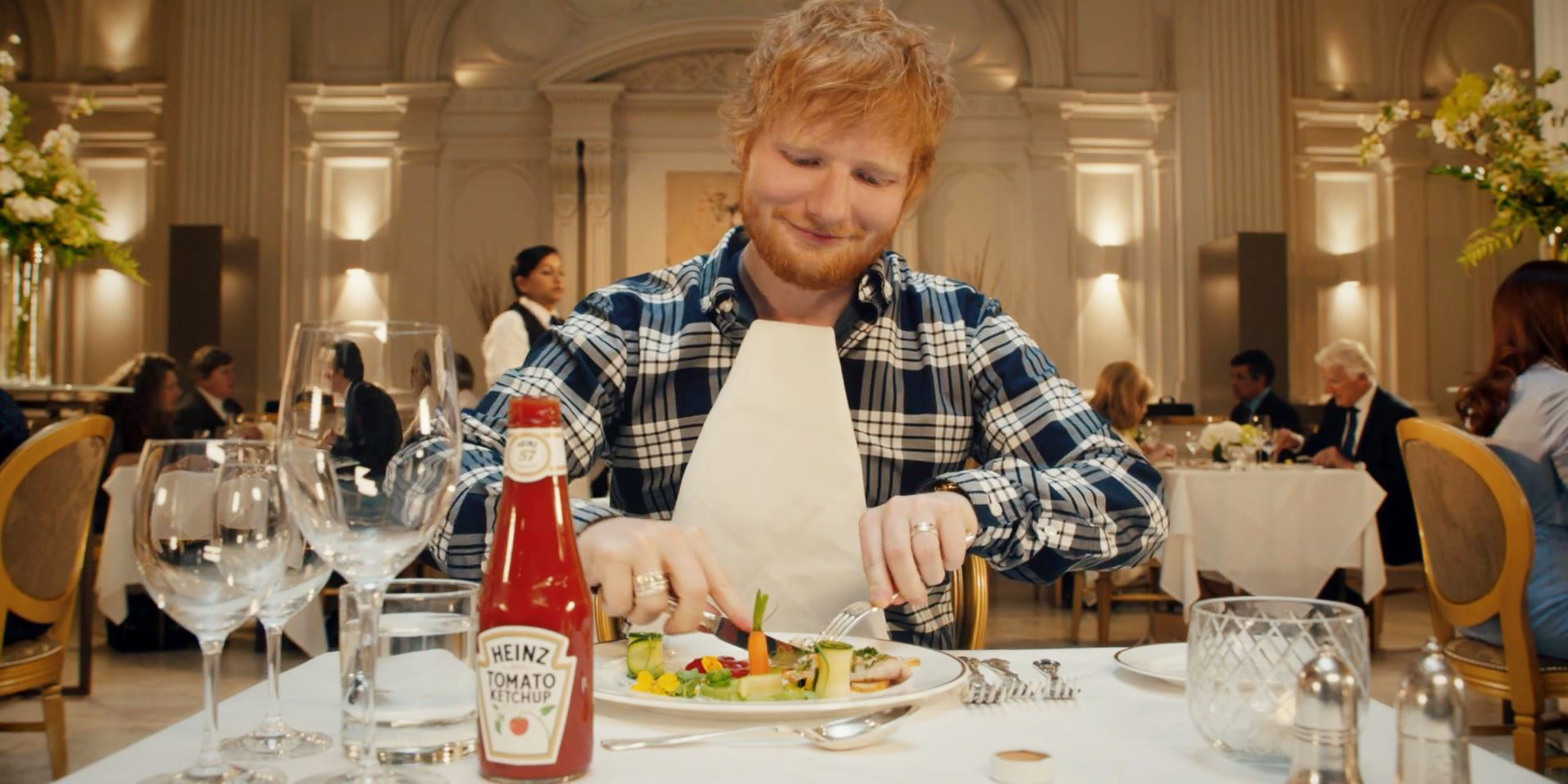 Ed Sheeran Creates Heinz Ketchup Commercial Watch The Ad