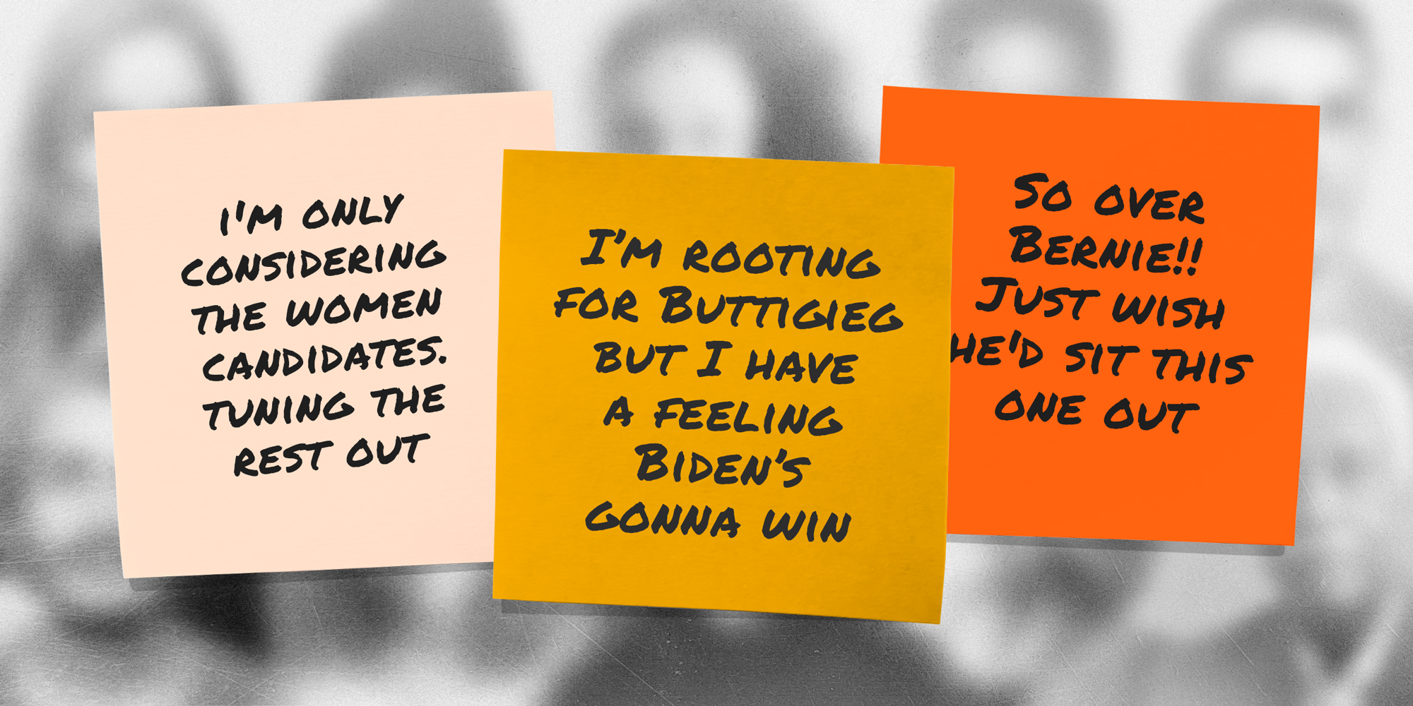 Election Confessions: Tell us how you really feel about the 2020 candidates