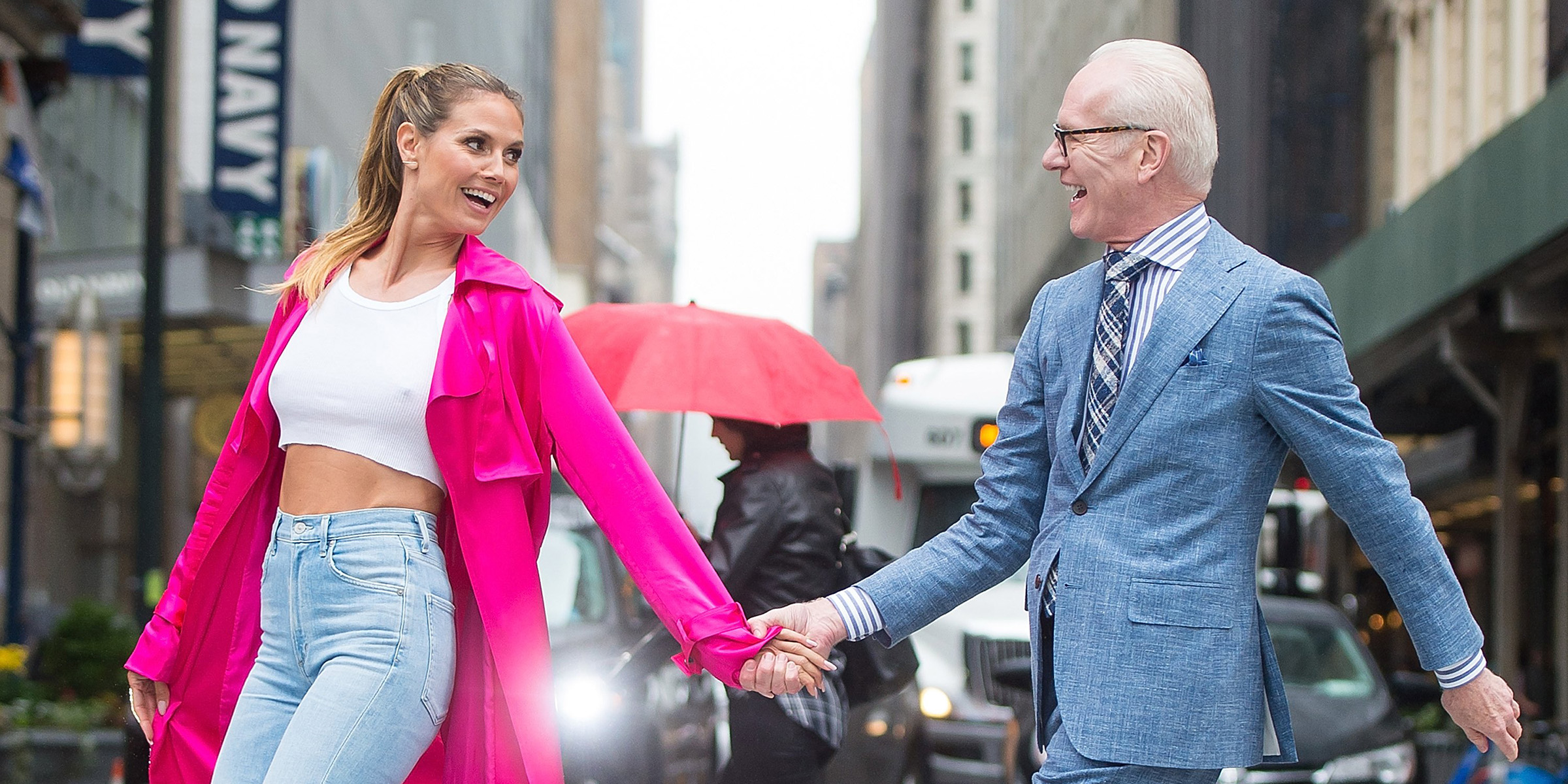 What To Know About Tim Gunn Heidi Klum S New Show Making The Cut