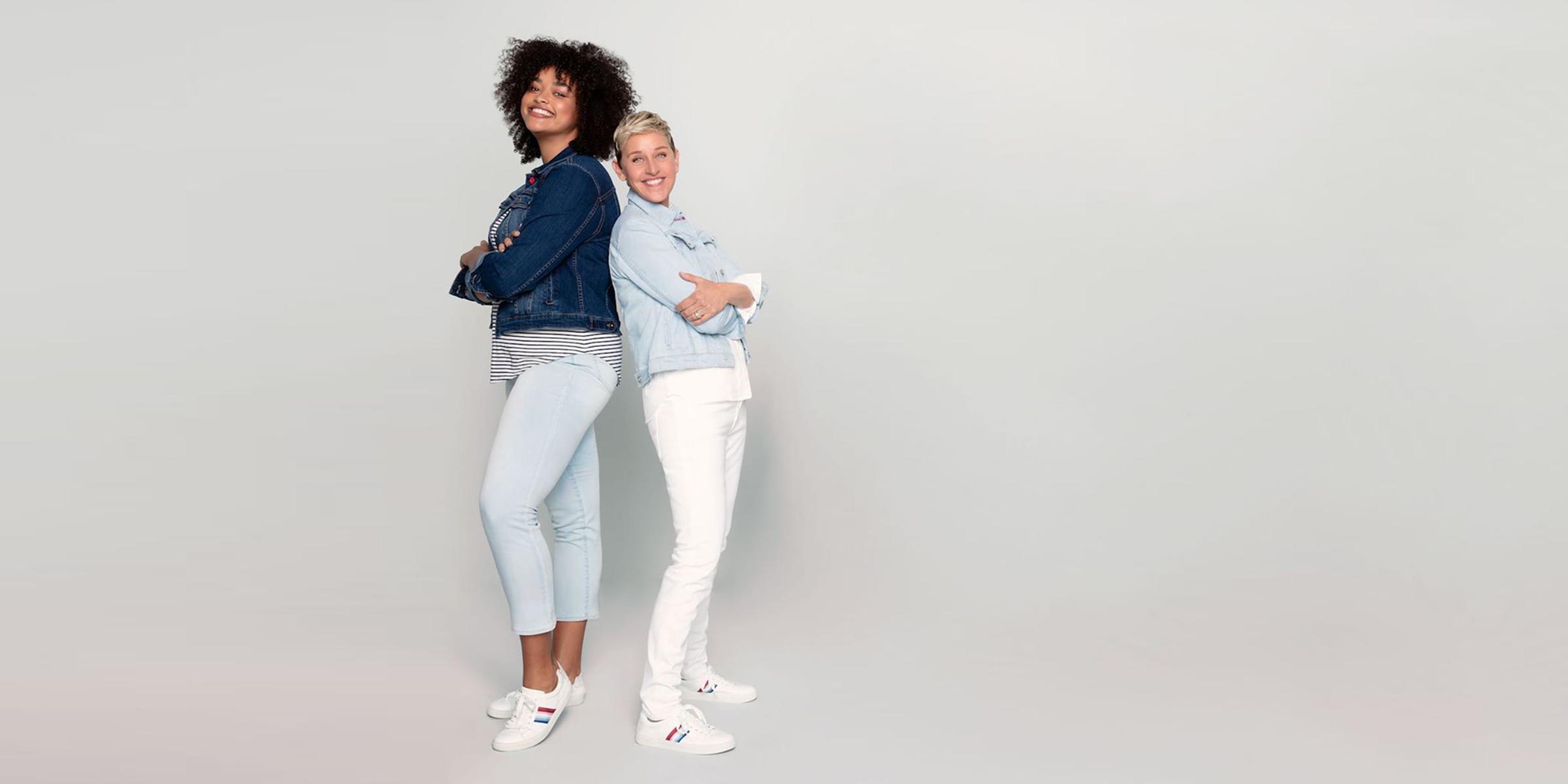 Ellen DeGeneres' EV1 sneakers are back