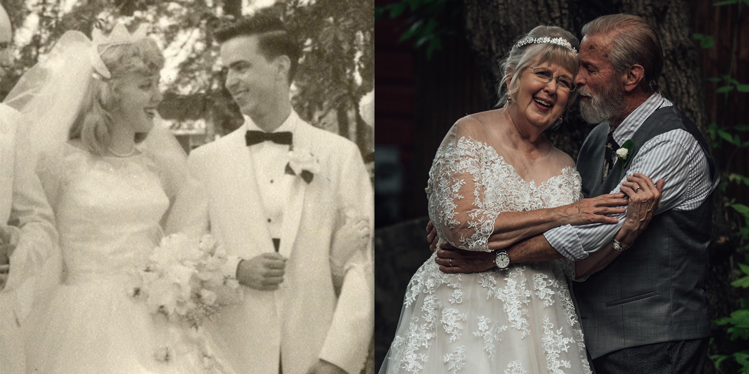 Wedding Photographer Surprises Grandparents With Anniversary Photo