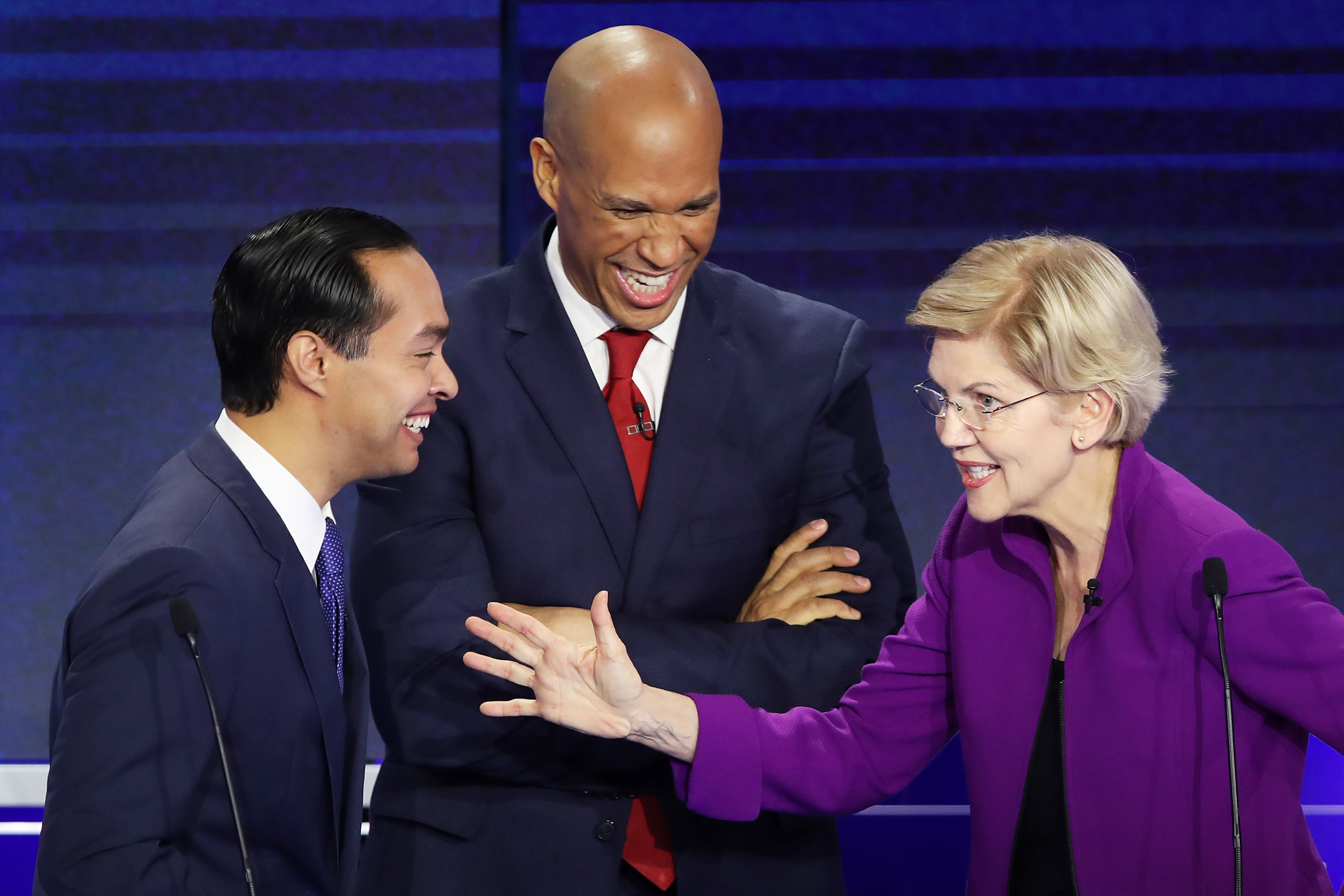 Full transcript: 2019 Democratic debate Night One, sortable