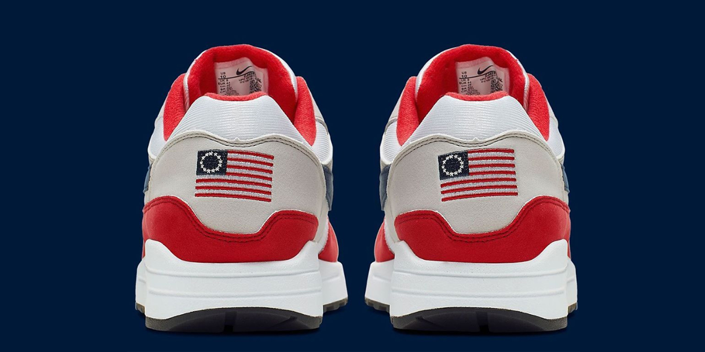 muy genial encanto de costo variedades anchas Nike pulls Betsy Ross flag sneakers after Colin Kaepernick ...