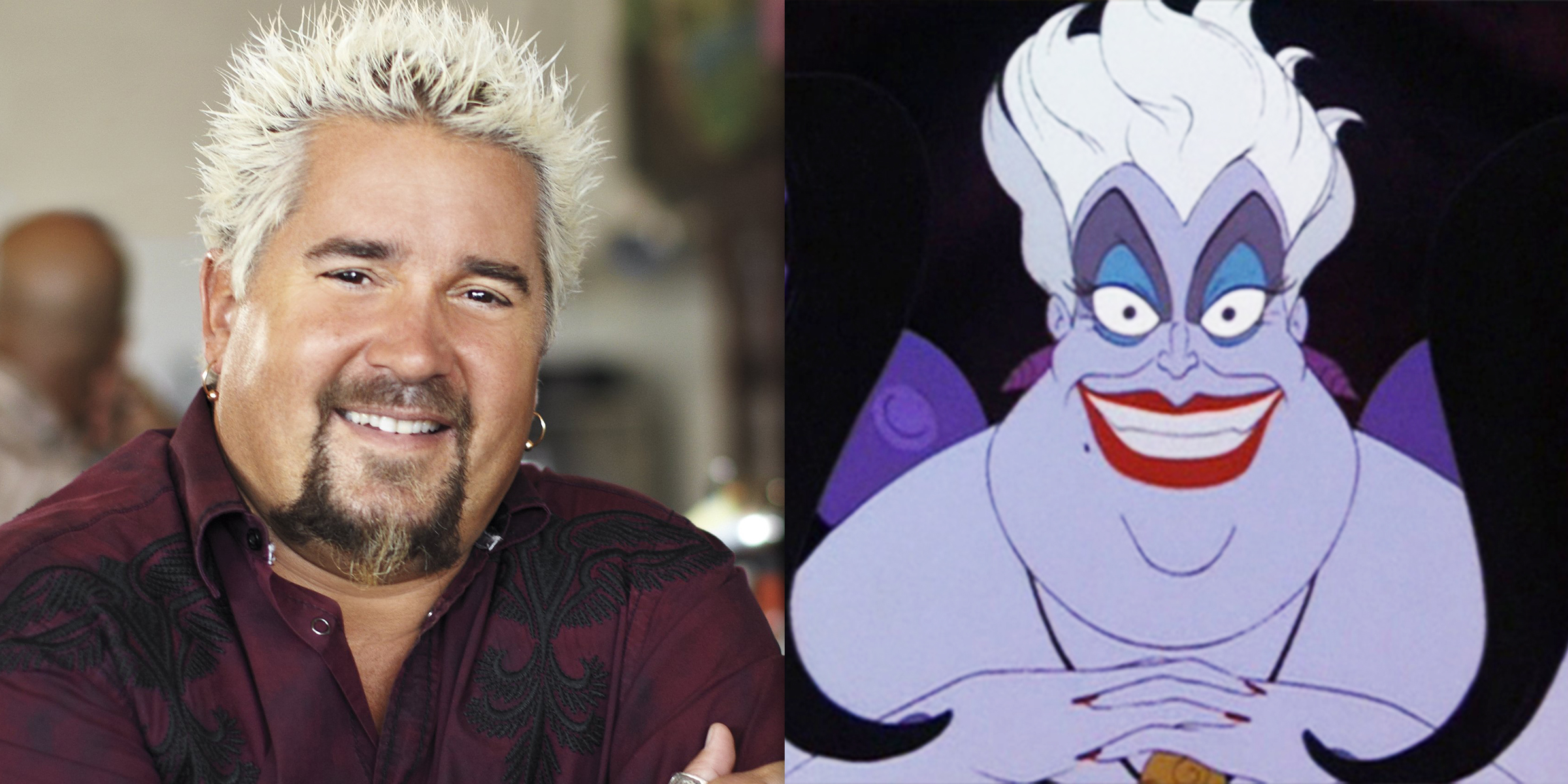 Guy Fieri Responds To Fans Who Want Him To Play Ursula In The Little Mermaid Remake