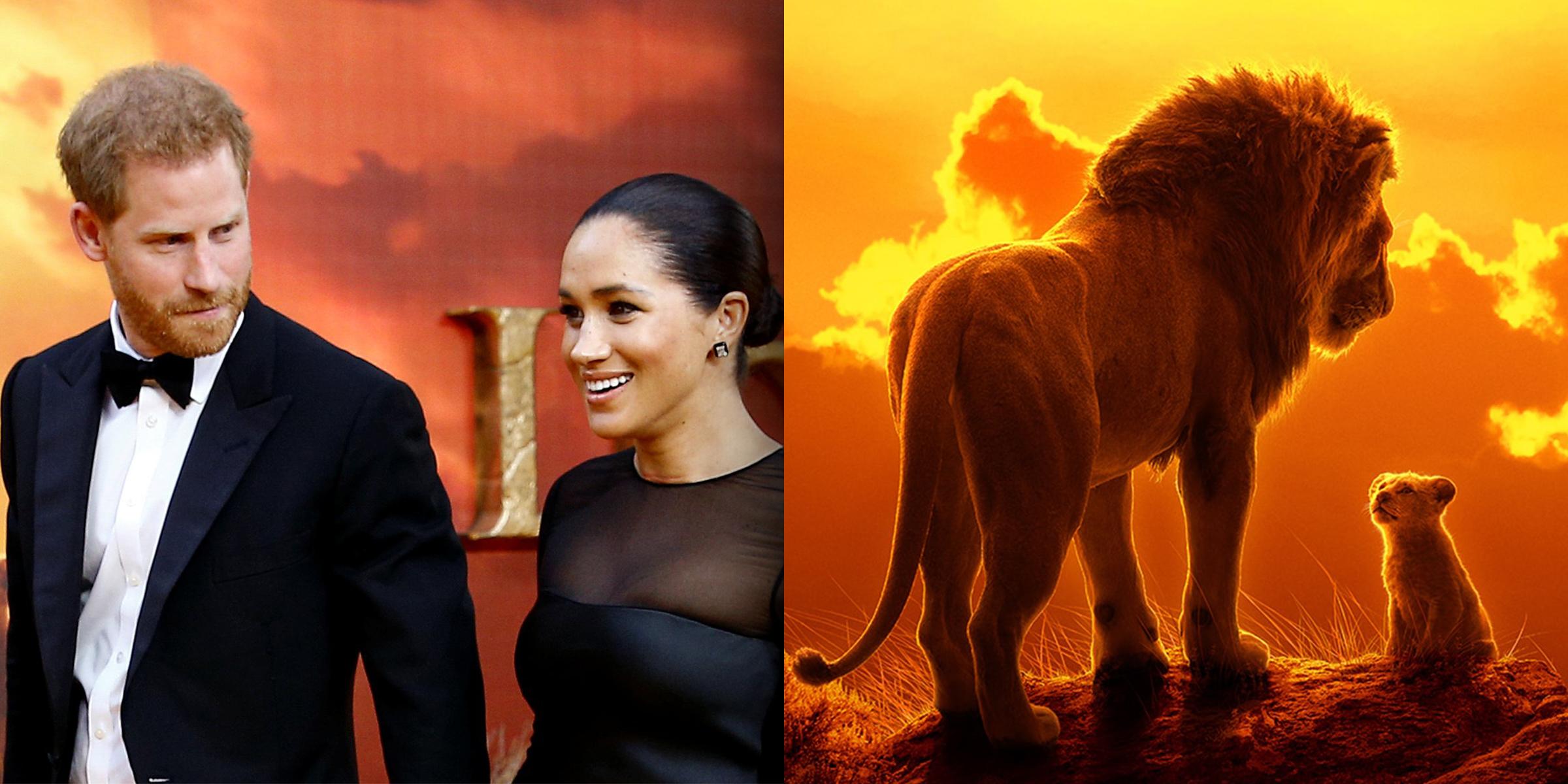 Meghan Markle, Prince Harry arrive at 'Lion King' premiere in London, meet Beyonce