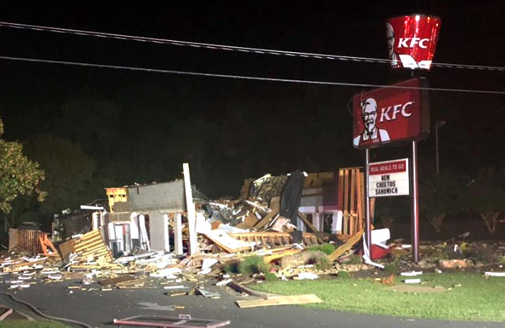 Image: KFC explosion