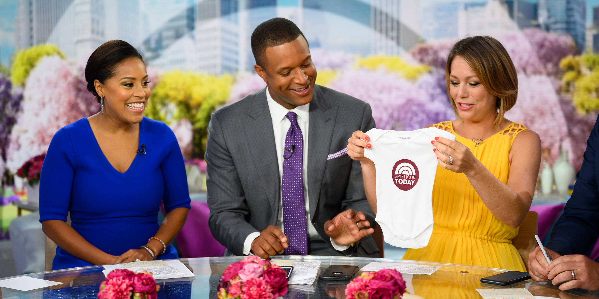 TODAY anchors offer second kid parenting tips to Dylan Dreyer