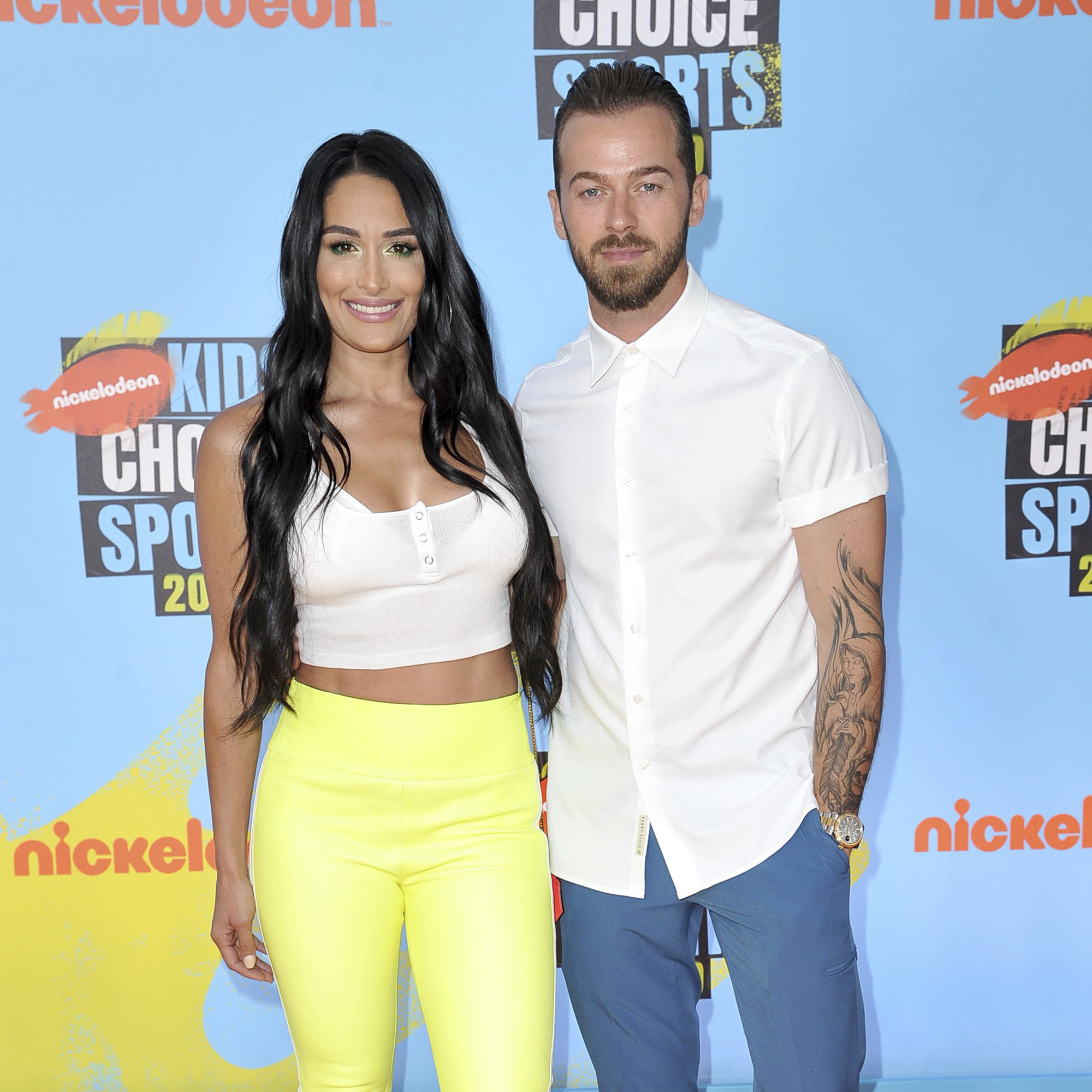 Nikki Bella and \u0027DWTS\u0027 pro Artem Chigvintsev make their