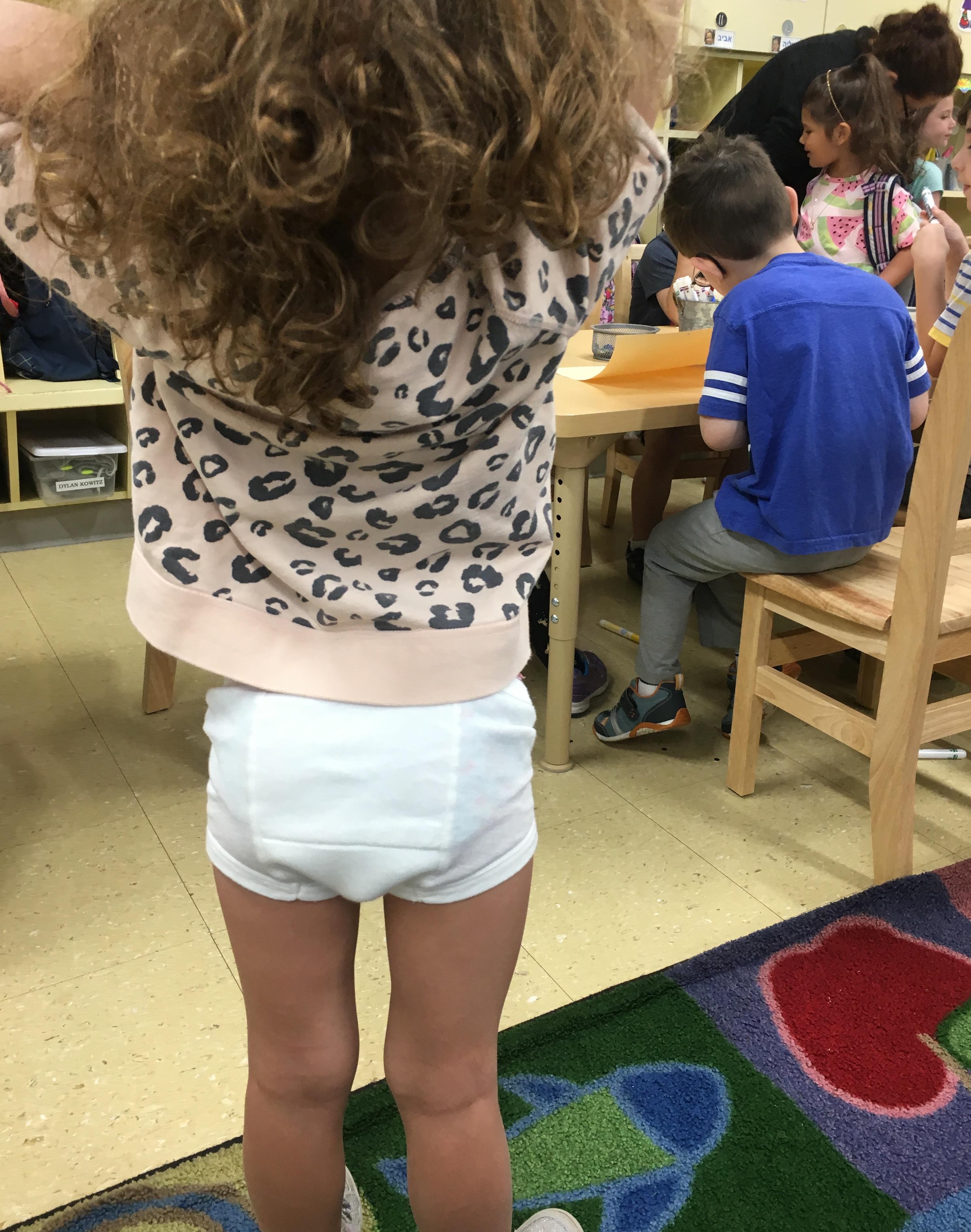 Dad Sends Preschool Daughter To Class Dressed In Underwear
