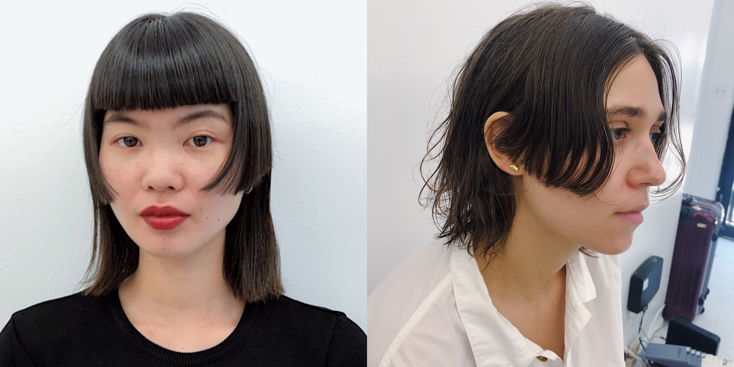 The Mullet Bangs Trend Is Inspired By Your Worst Childhood Haircut