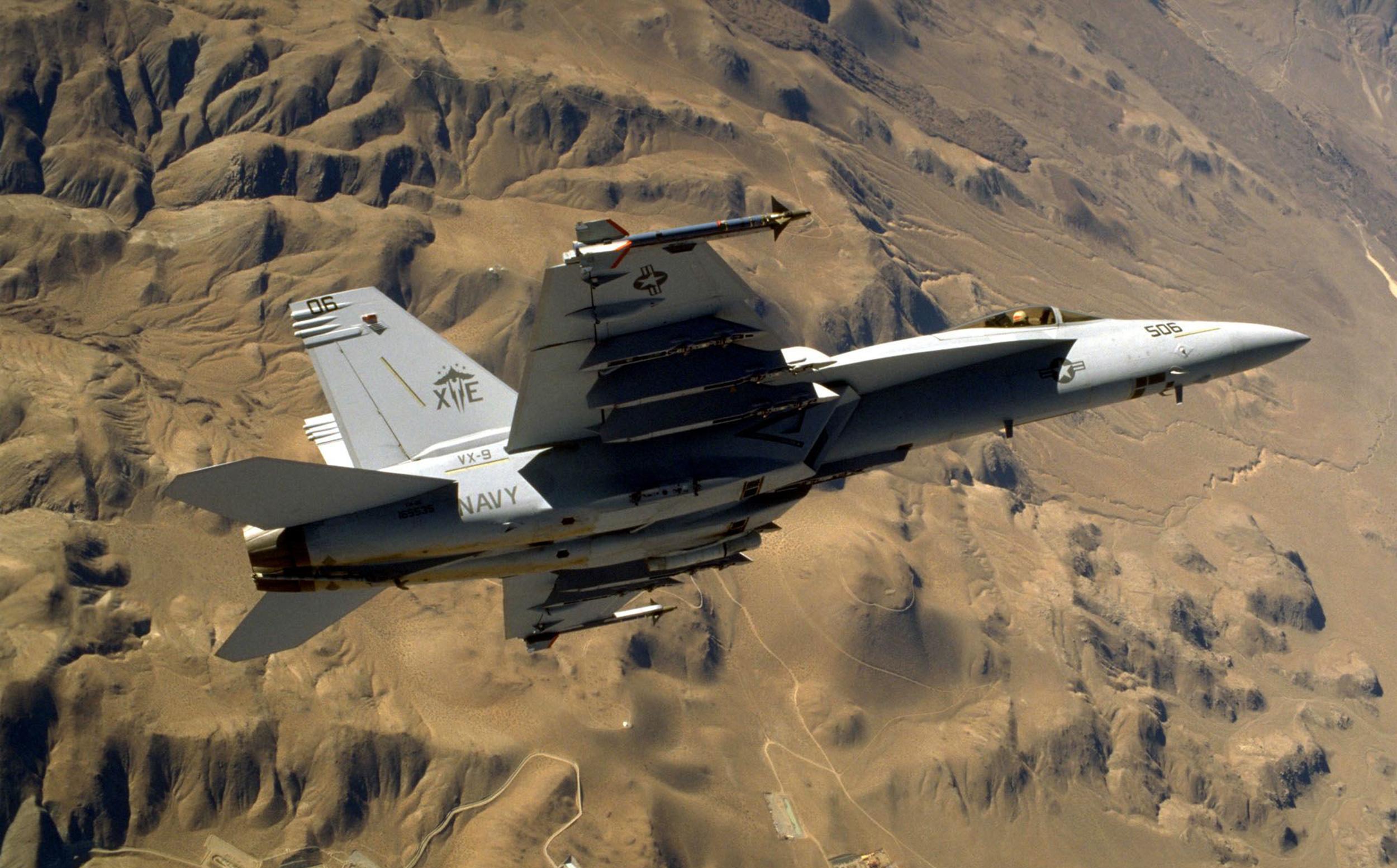 Pilot missing after fighter jet crashes in Death Valley