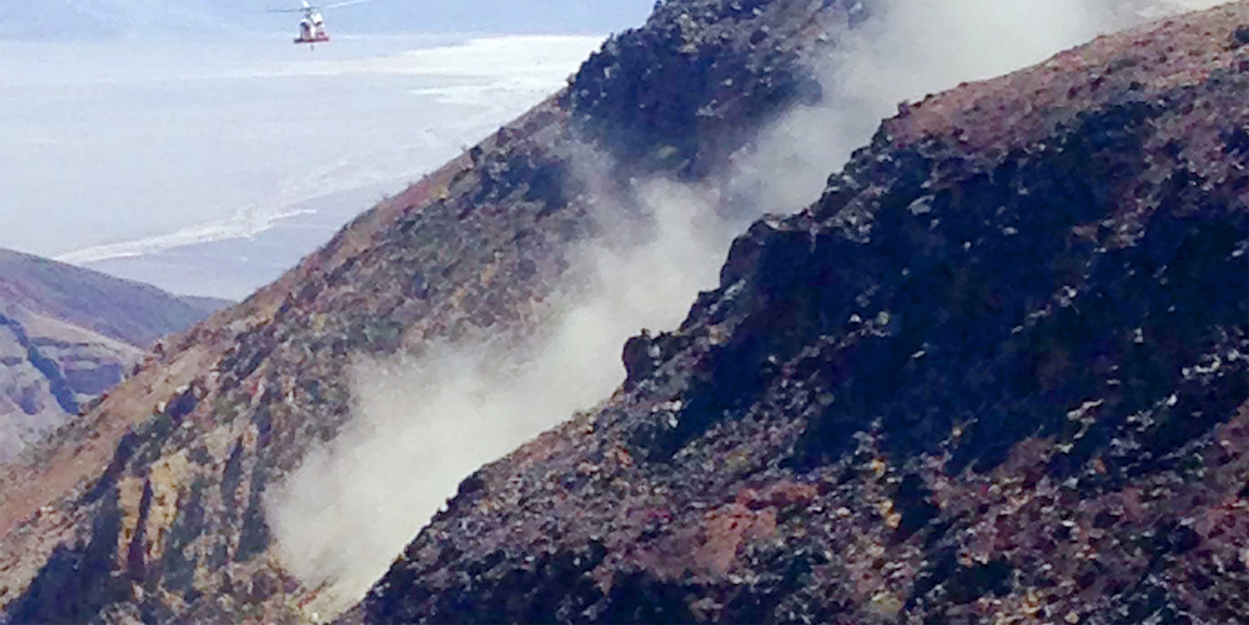 Navy pilot killed in Death Valley canyon crash identified
