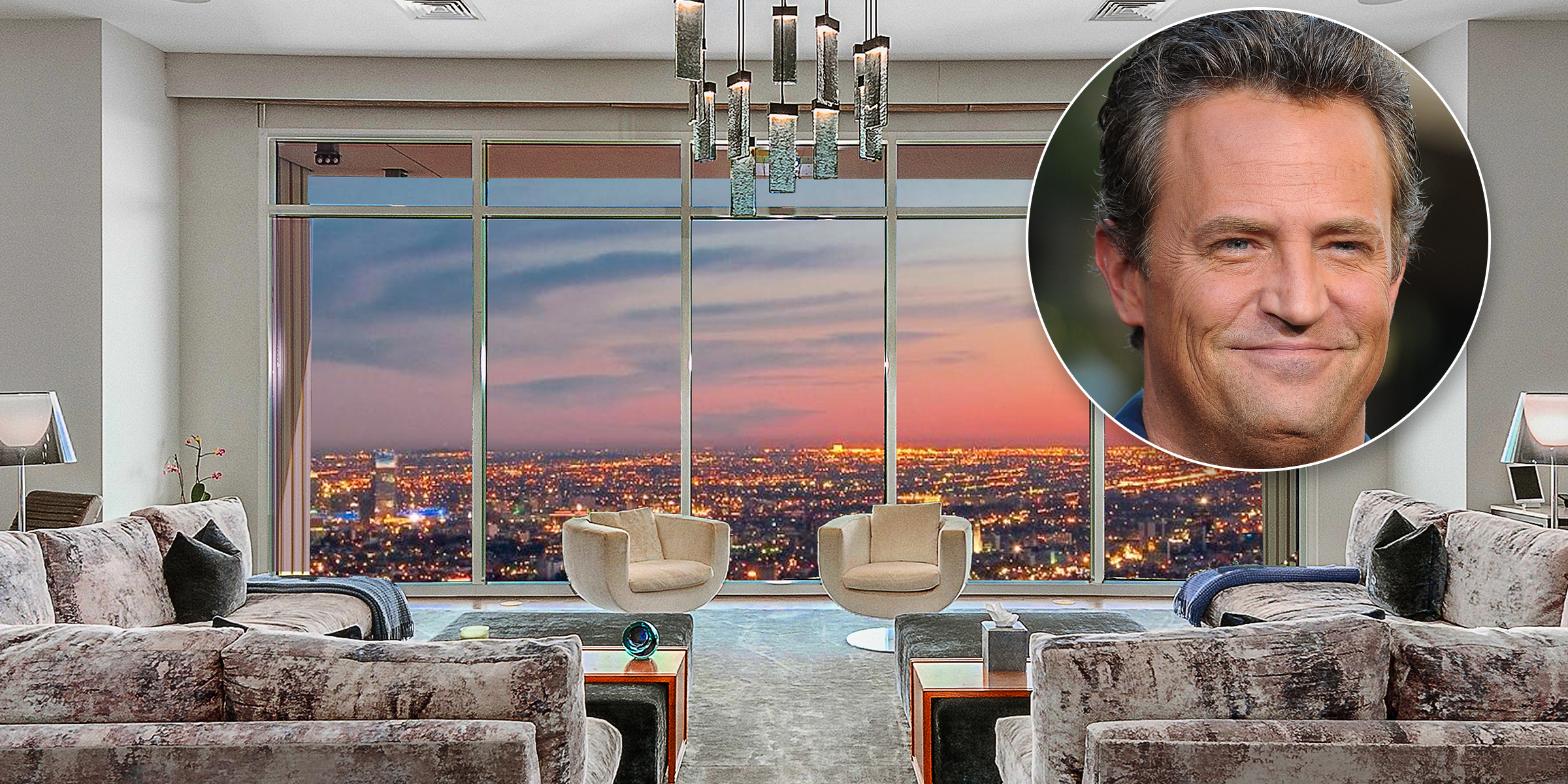 Matthew Perry is selling his $35 million 'mansion in the sky' penthouse